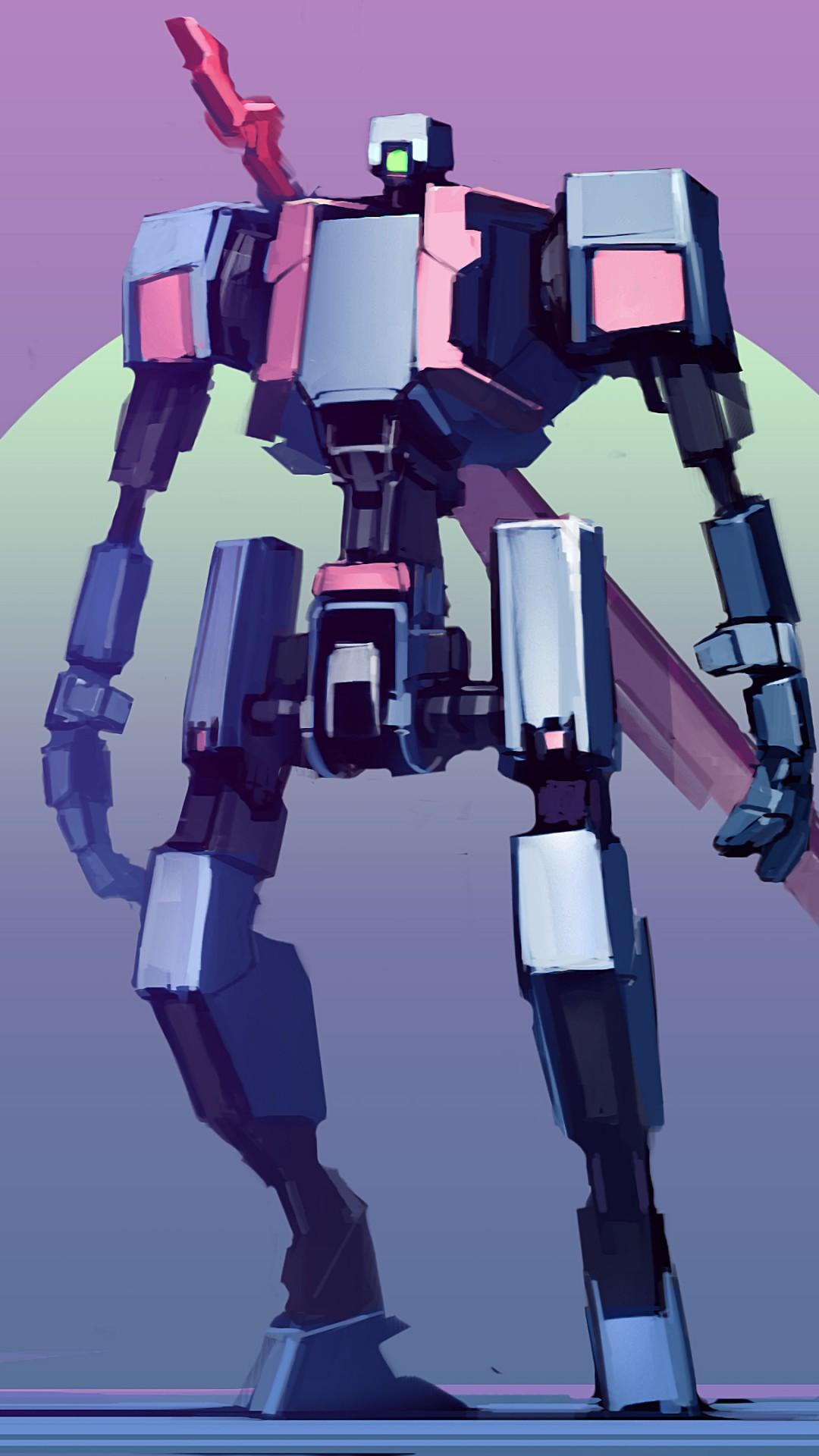 Wallpaper Robot Mecha Battle Robot 4k Hd Art 13441