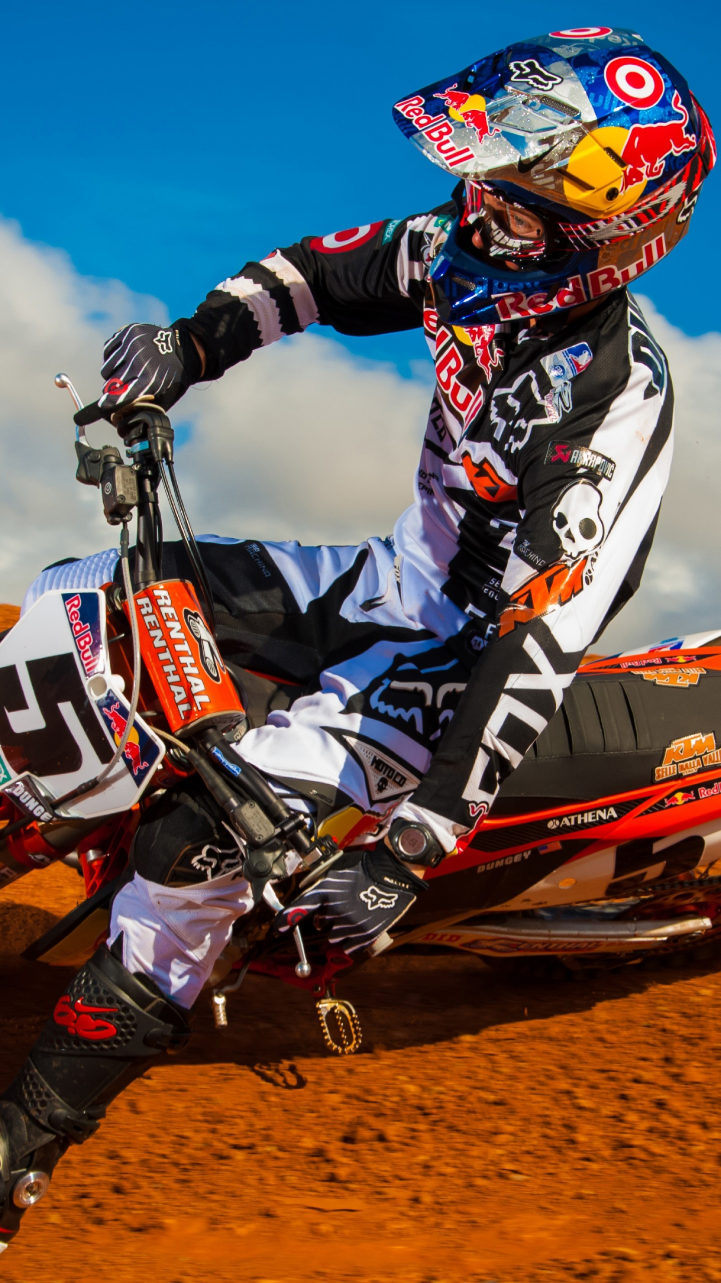 Wallpaper Ryan Dungey, motocross, fmx, rider, Sport #11208