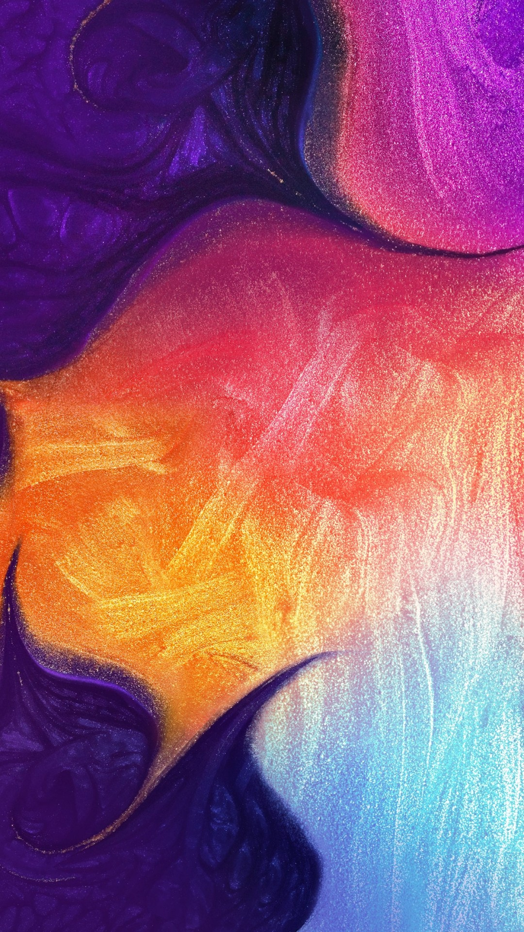 Wallpaper Samsung Galaxy A50 Abstract Colorful Hd Os