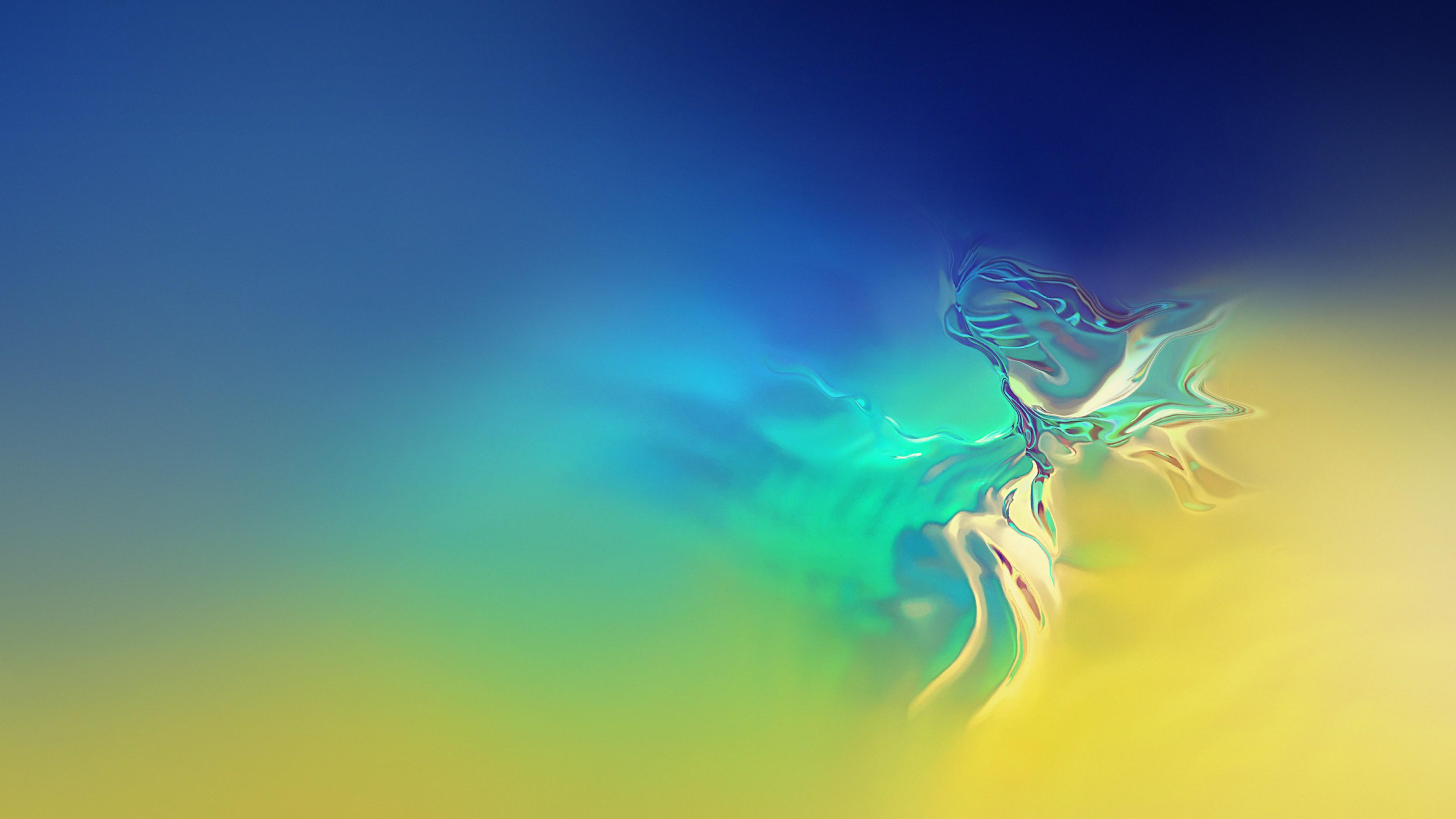 Wallpaper Samsung Galaxy S10, abstract, 4K, OS #21186