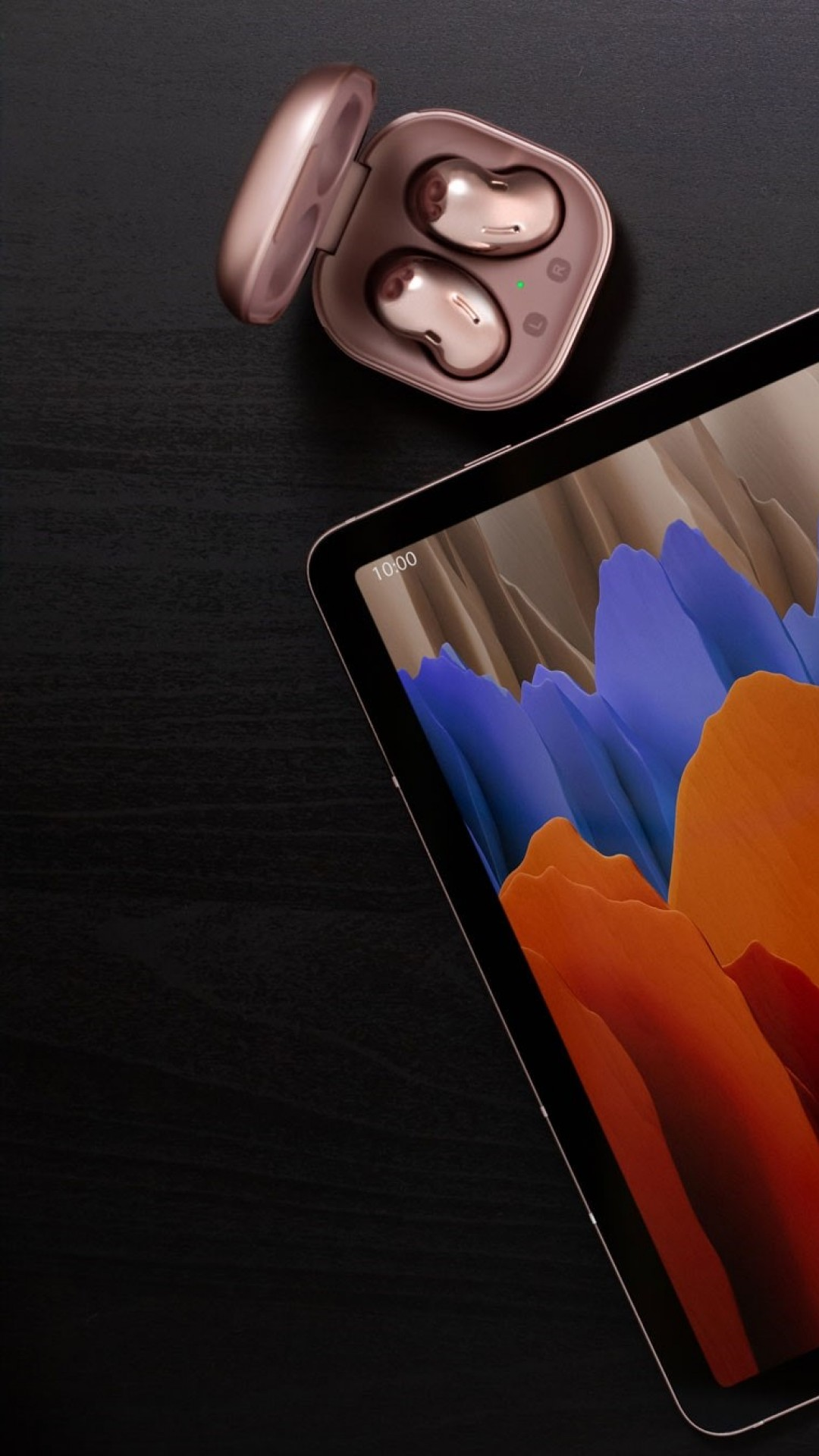 Wallpaper Samsung Galaxy Tab S7 Samsung Galaxy Buds Live Unpacked 2020 Samsungevent Hi Tech 22770