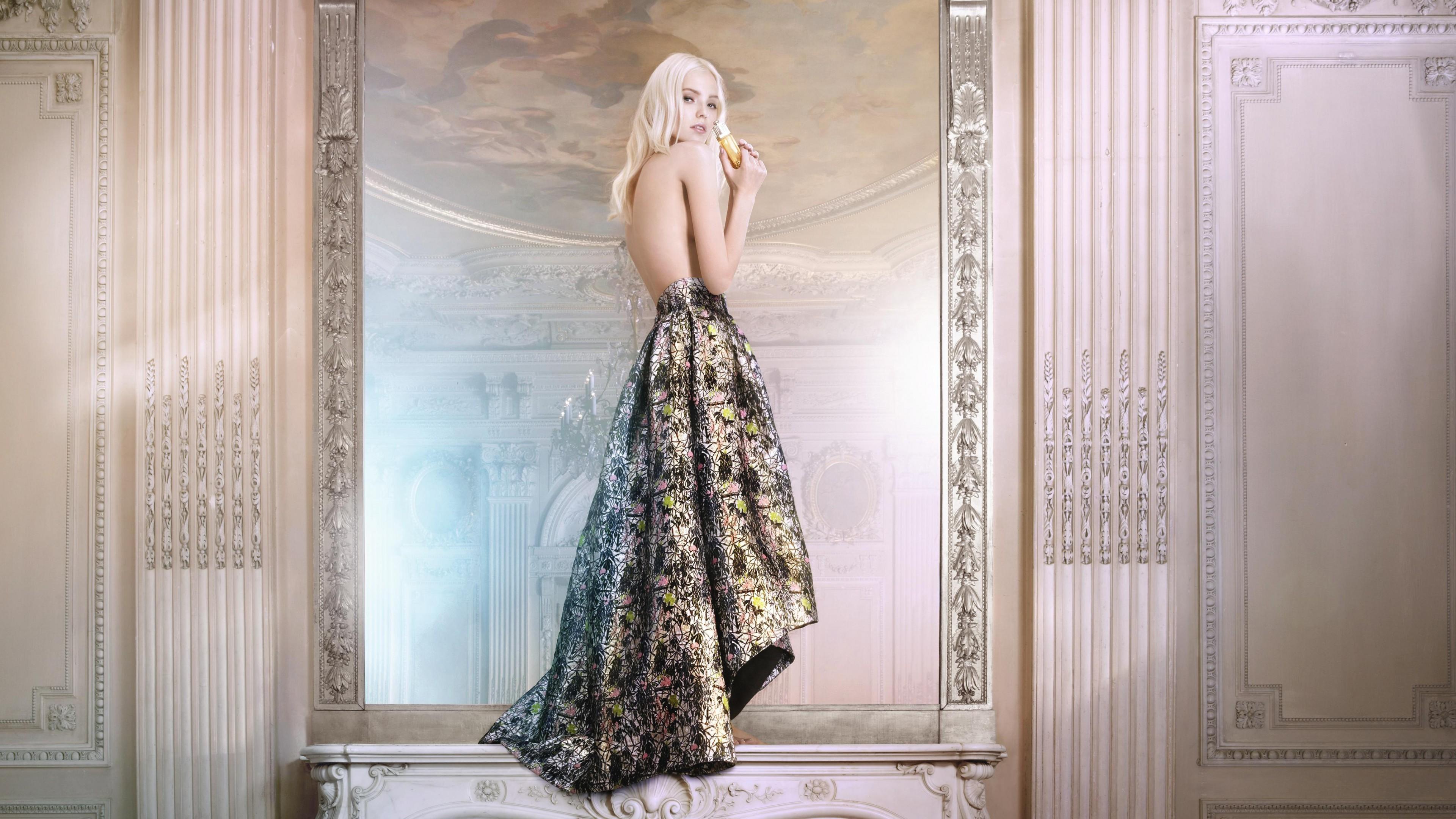 Wallpaper Sasha Luss Top Fashion Models 2015 Model