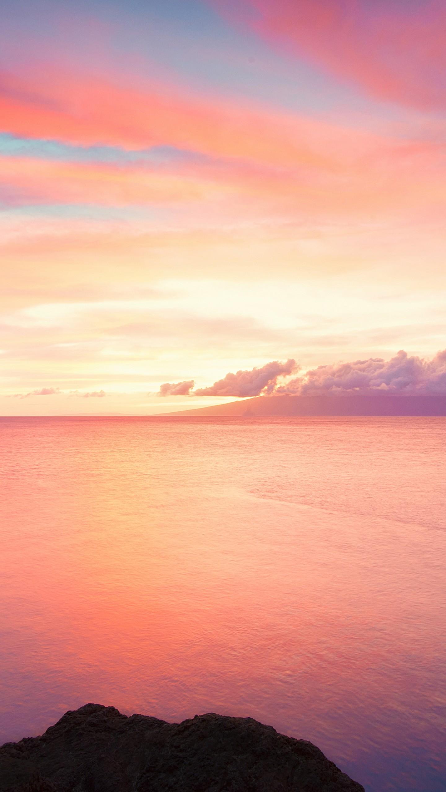 Wallpaper Sea, 4k, HD Wallpaper, Ocean, Rocks, Cliffs, Sky