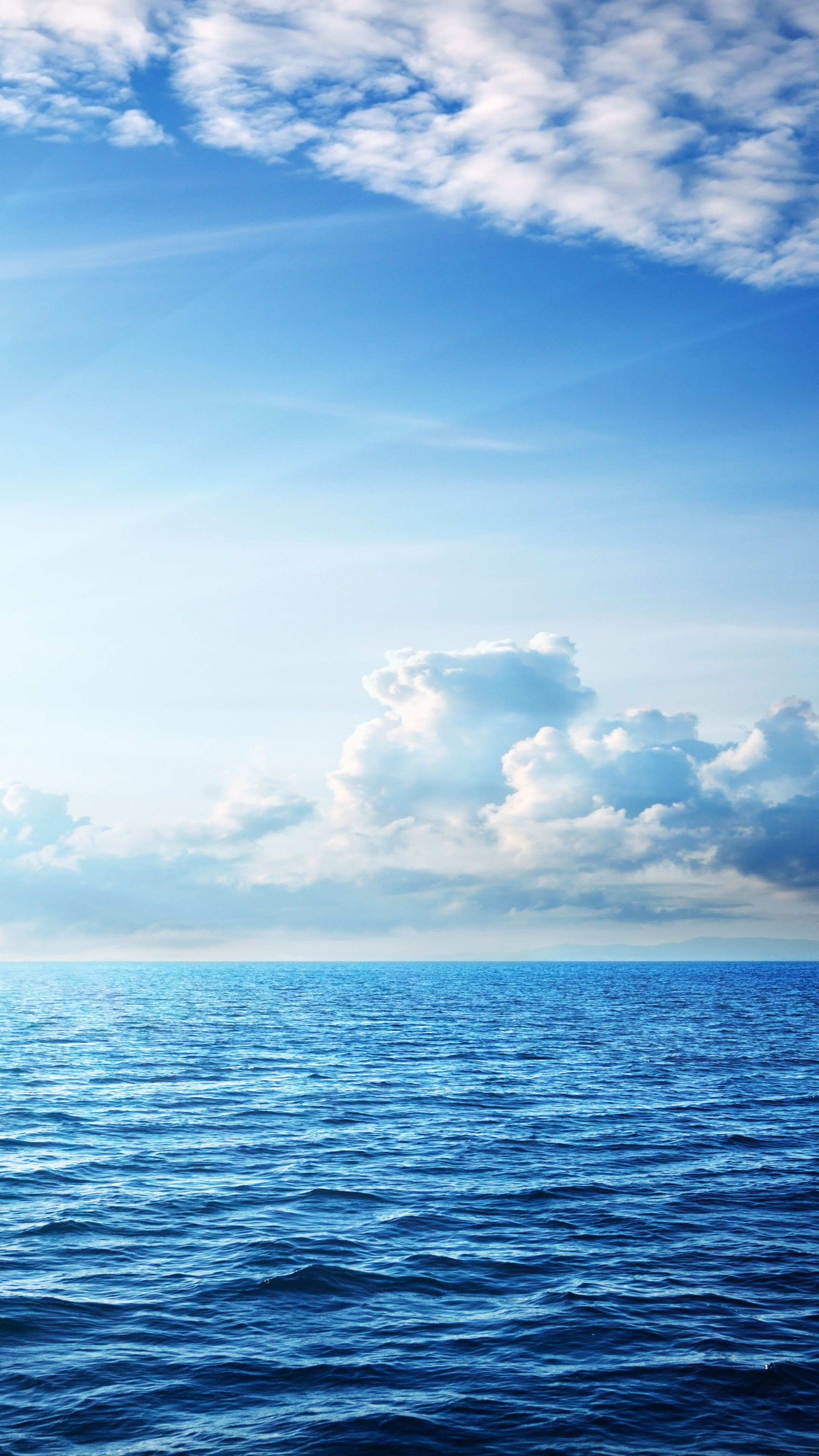 Wallpaper Sea, 5k, 4k wallpaper, ocean, sky, clouds ...