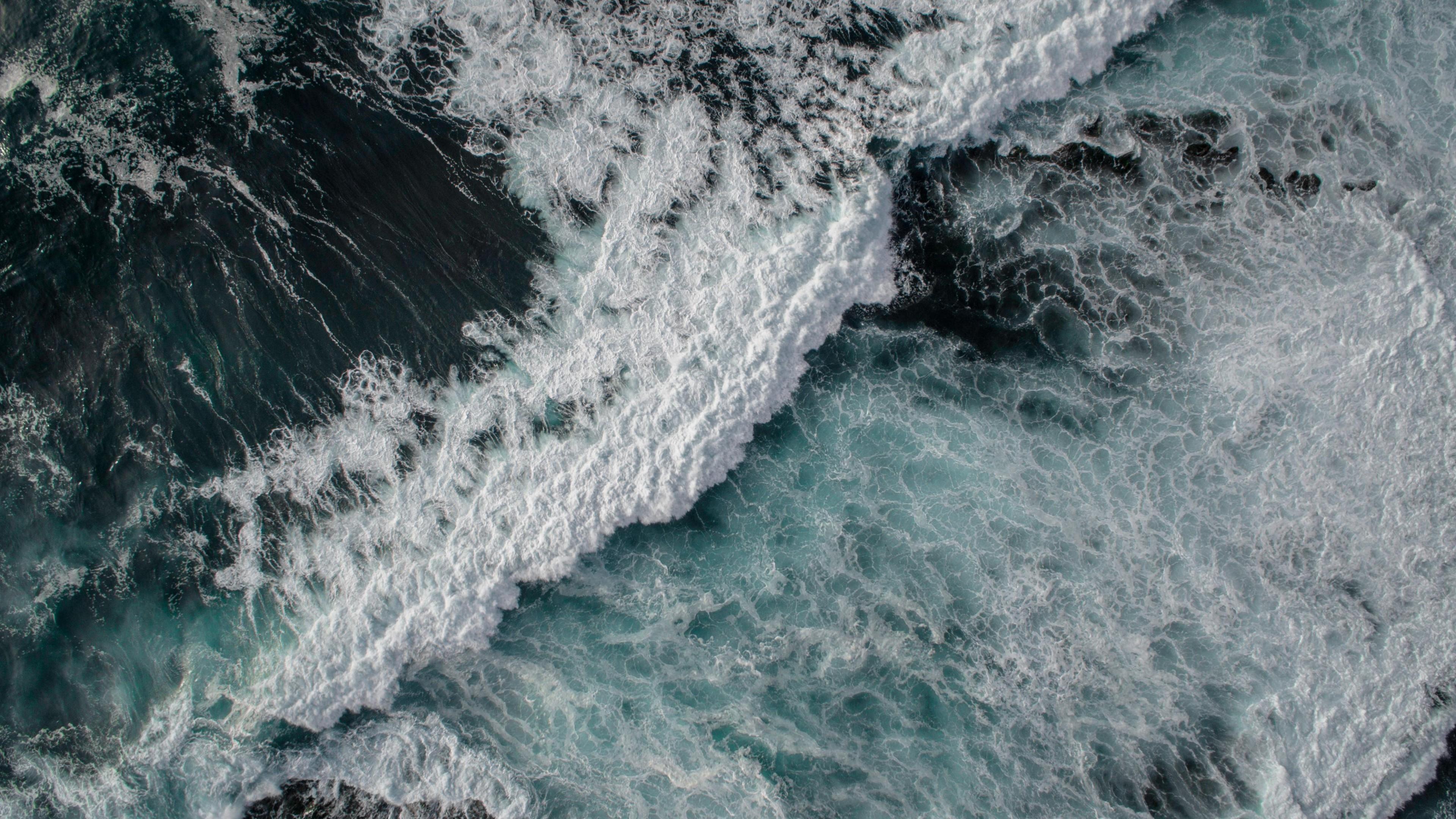 Wallpaper Sea, ocean, waves, 4k, 5k ...