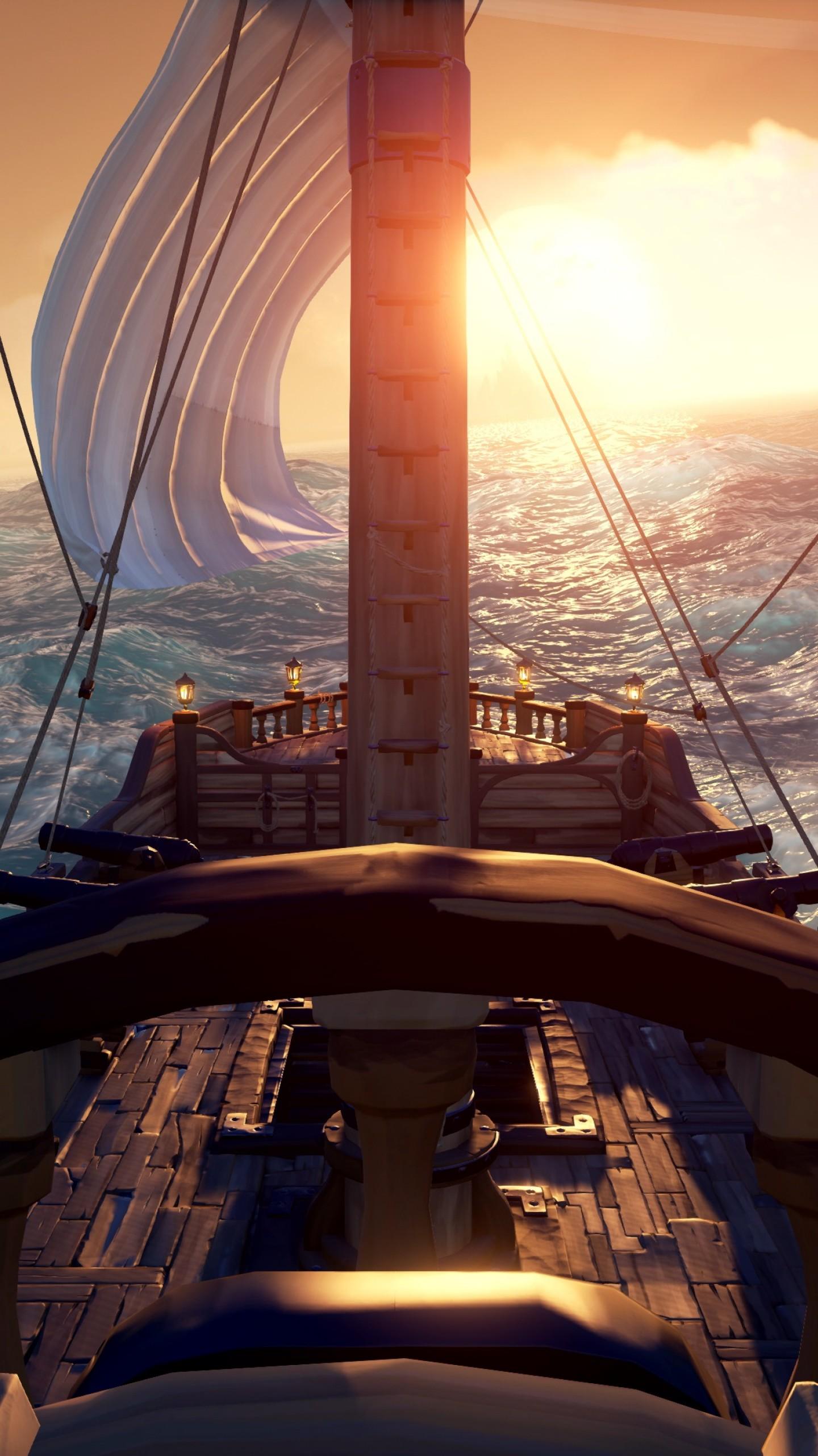 Wallpaper Sea of Thieves, screenshot, 4K, Games #18228