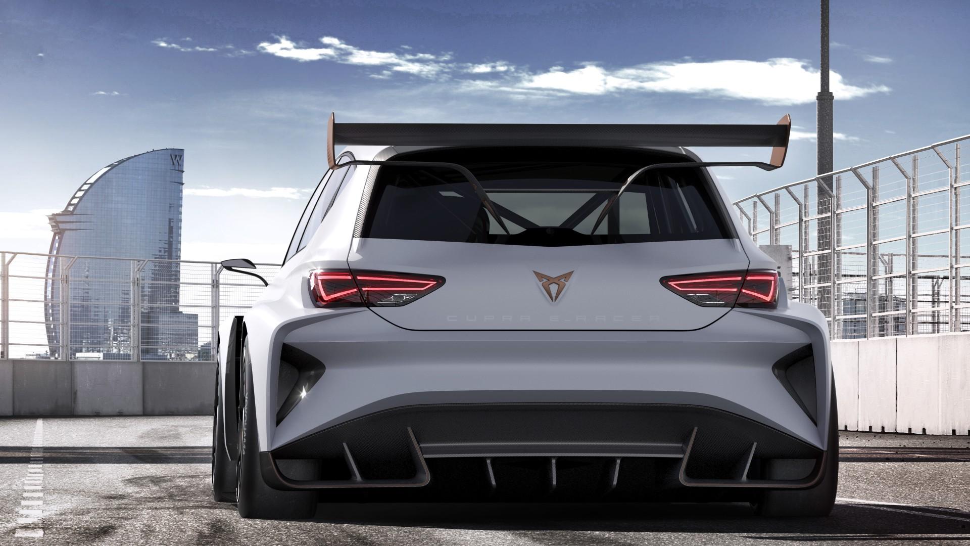 Wallpaper Seat Cupra E Racer Electric Car 4k Cars
