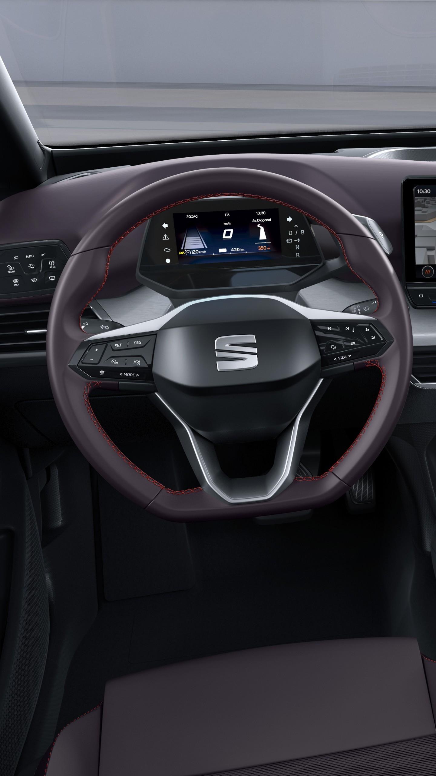 Wallpaper Seat el-Born, electric car, Geneva Motor Show ...
