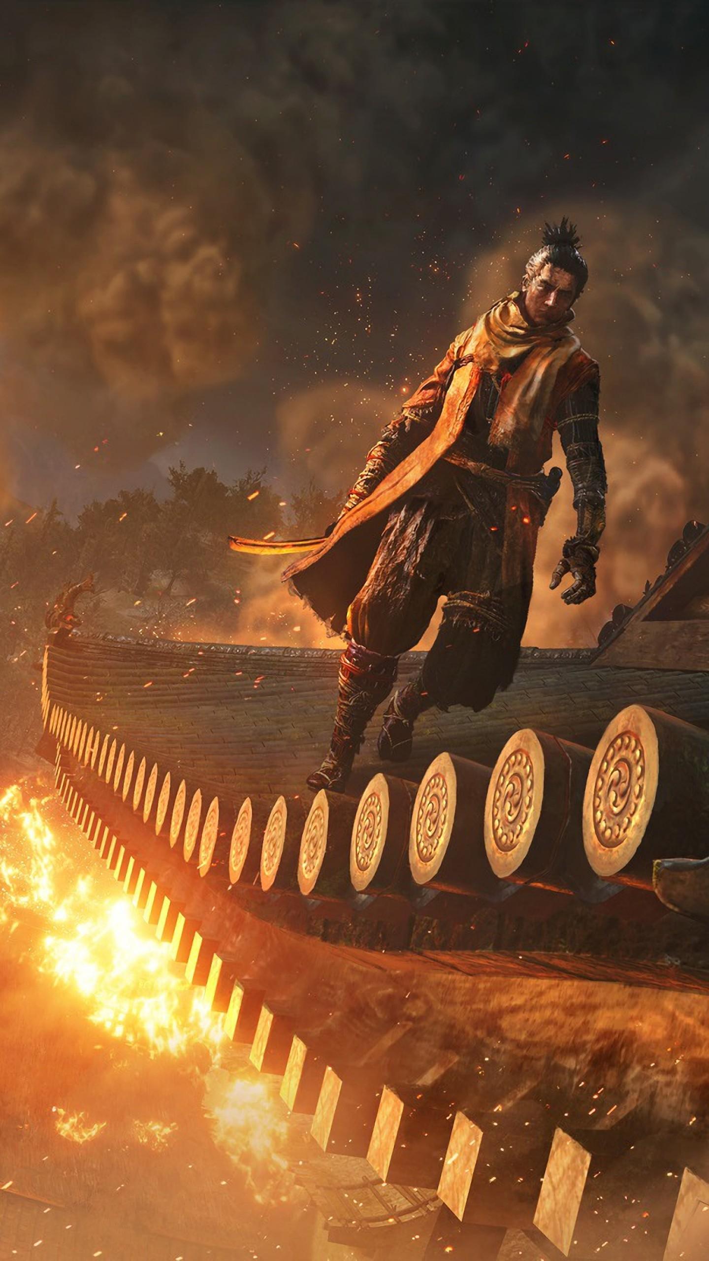Wallpaper Sekiro: Shadows Die Twice, E3 2018, Screenshot
