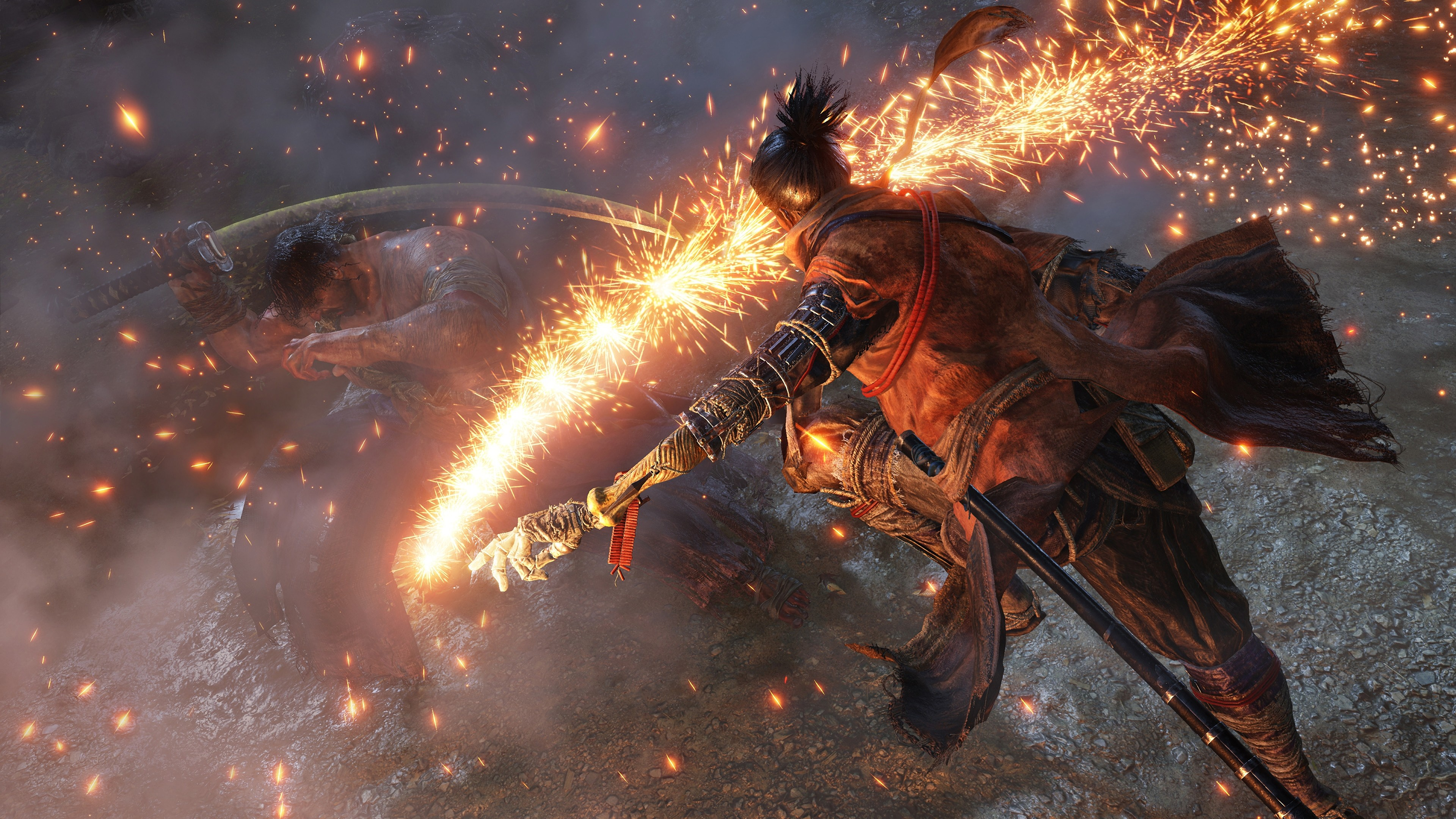 Wallpaper Sekiro Shadows Die Twice E3 2018 Screenshot