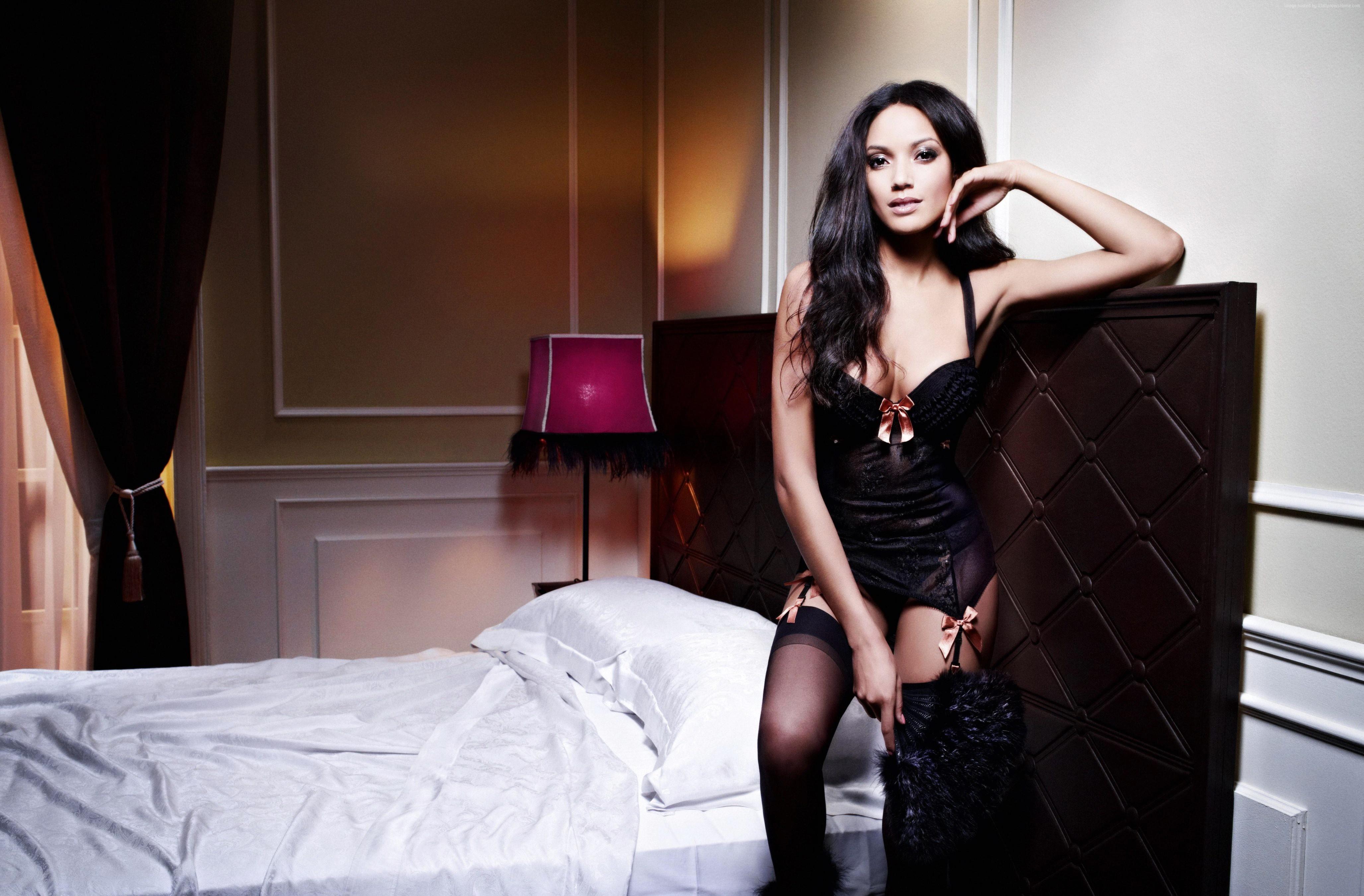 Wallpaper Selita Ebanks, model, Victoria's Secret Angel ...