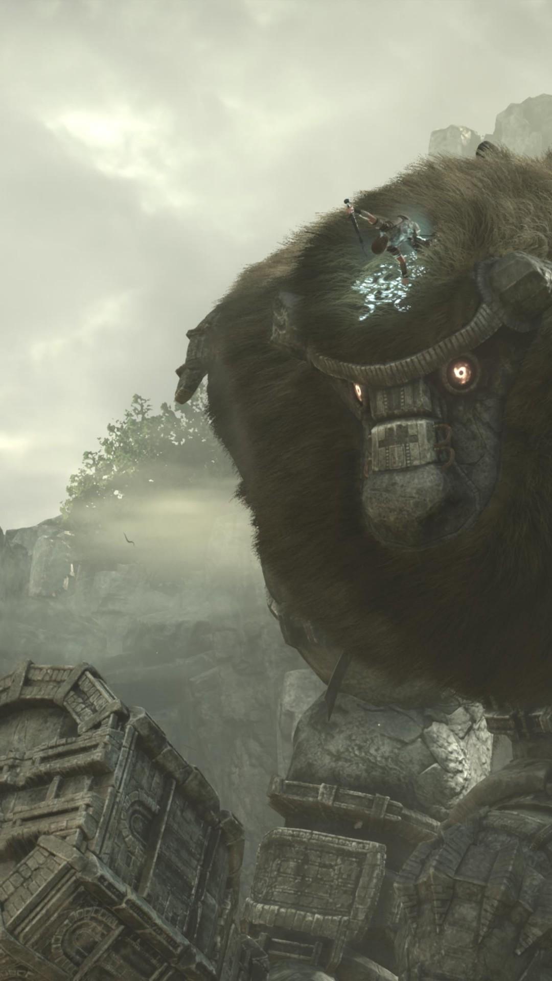Wallpaper Shadow of the Colossus, 4k, screenshot, E3 2017
