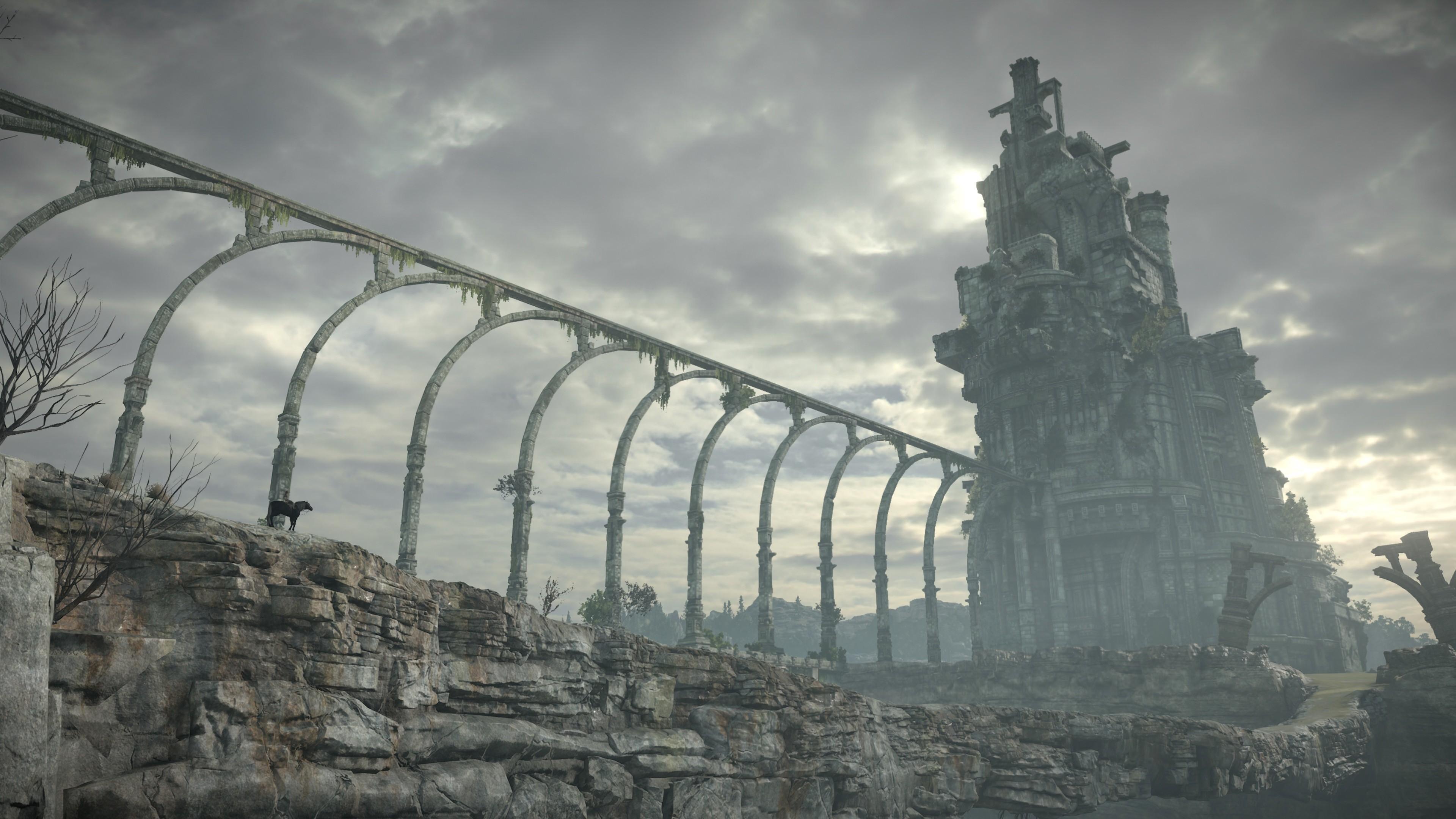 Wallpaper Shadow Of The Colossus 4k Screenshot E3 2017 Games