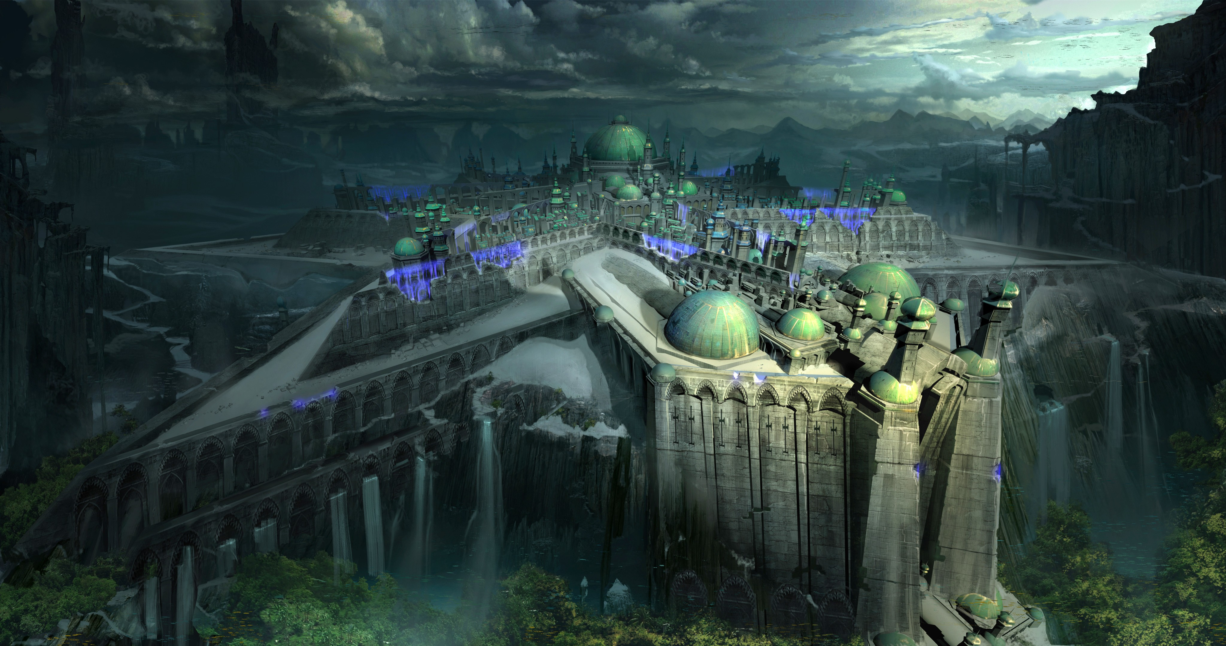 Wallpaper shadow of the colossus author artwork castle concept screenshot gameplay art - 4096x2160 wallpaper ...