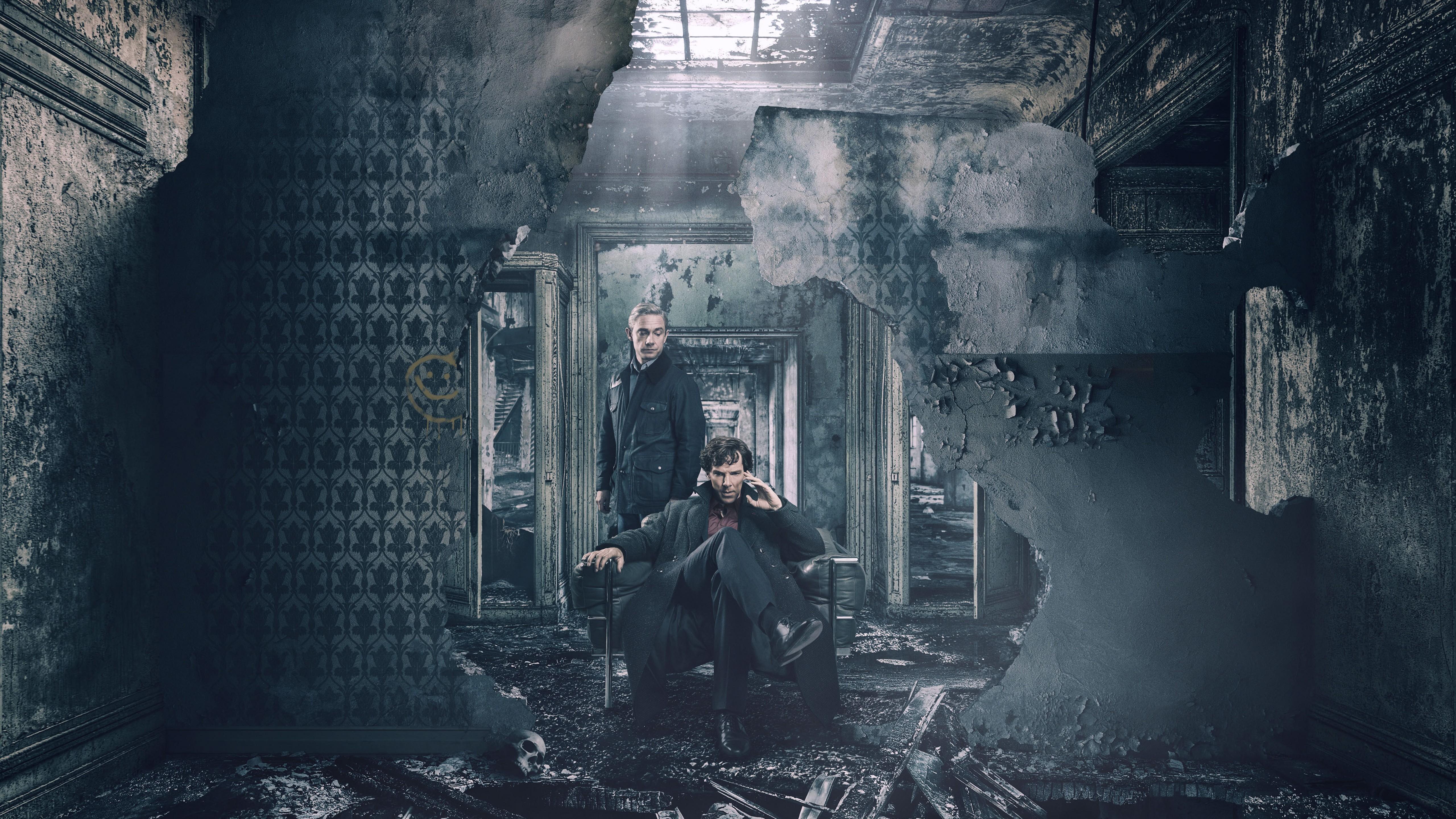 Wallpaper Sherlock Season 4, Benedict Cumberbatch, Martin