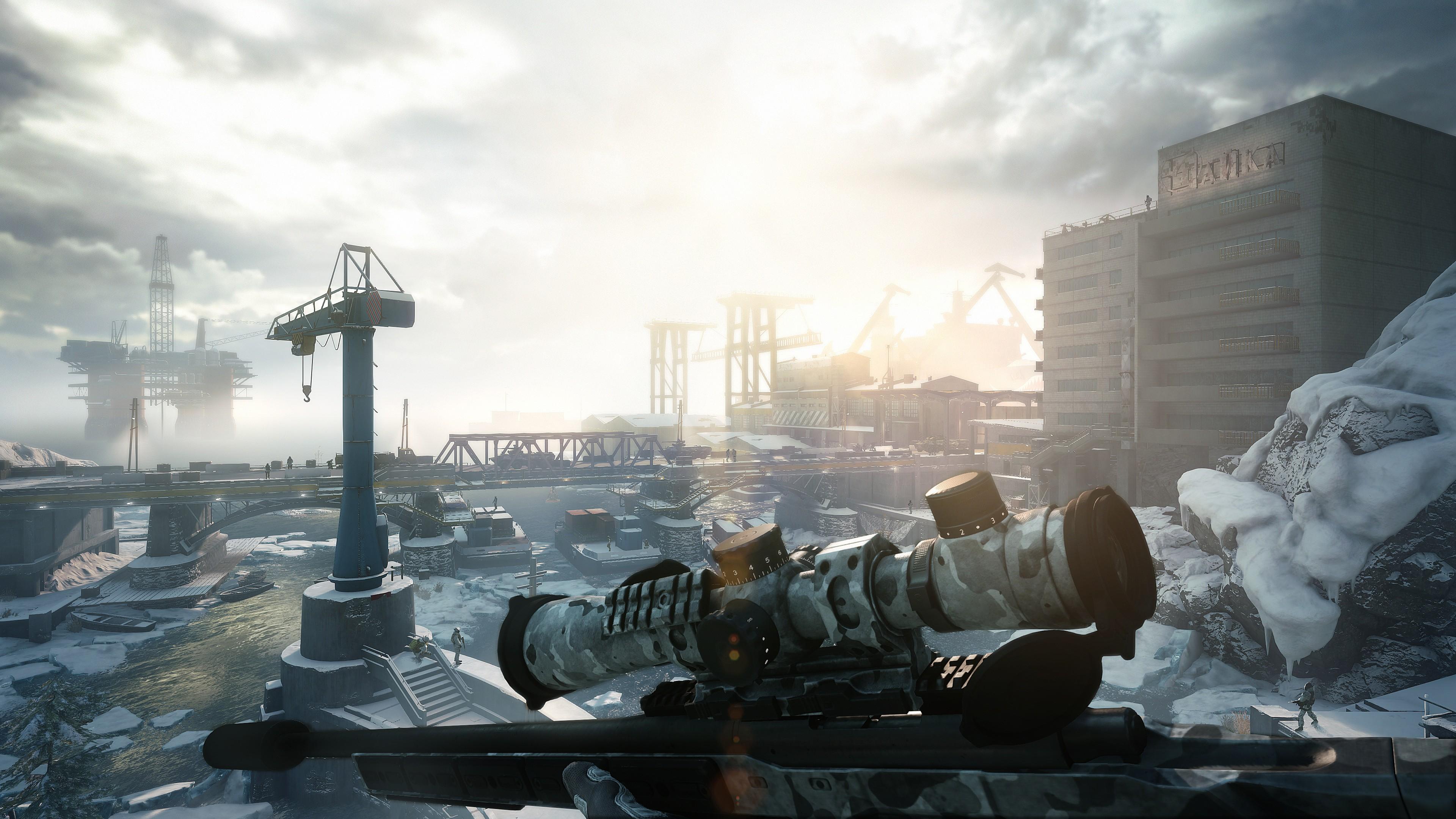 Wallpaper Sniper Ghost Warrior Contracts E3 2019 Screenshot 4k