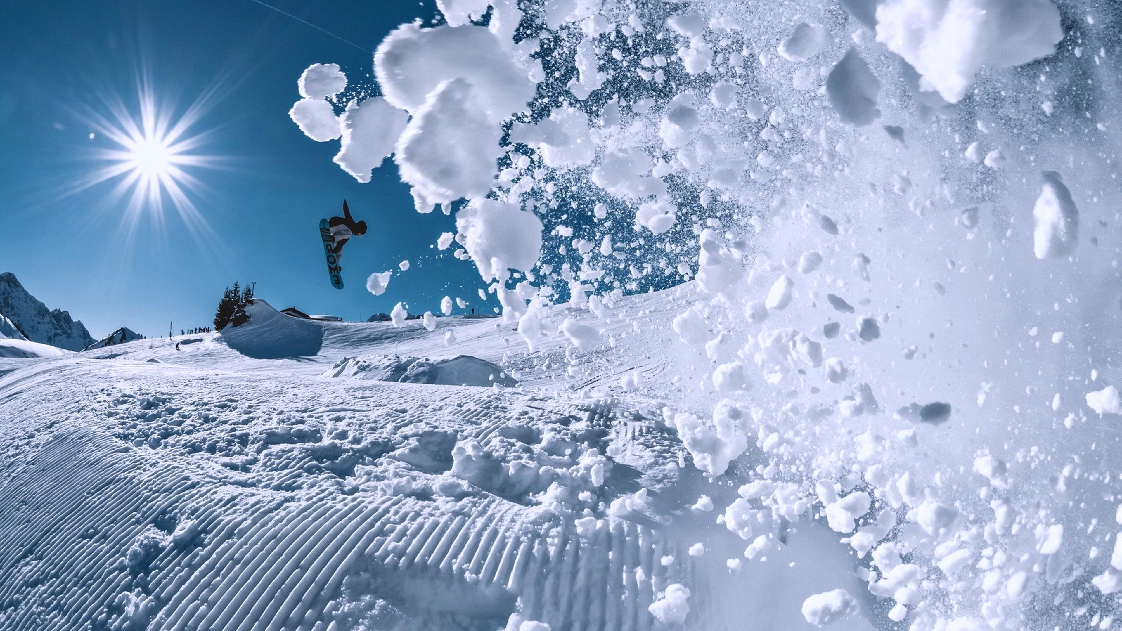 Wallpaper Snowboarding Winter Snow 4k Sport 17399 Page 4