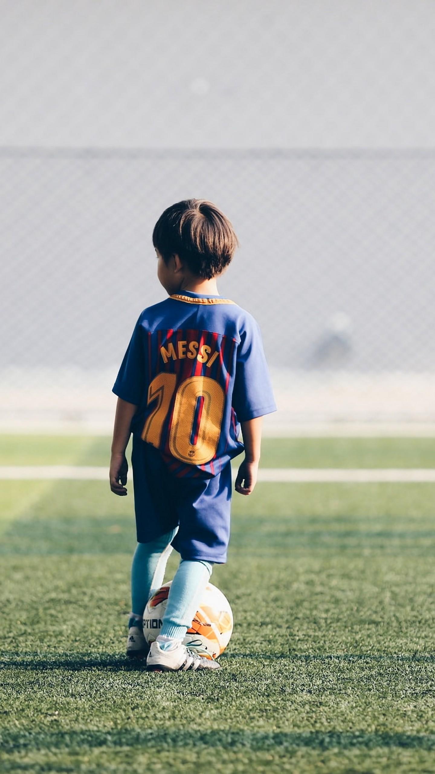Wallpaper Soccer, child, 4K, Sport #19408