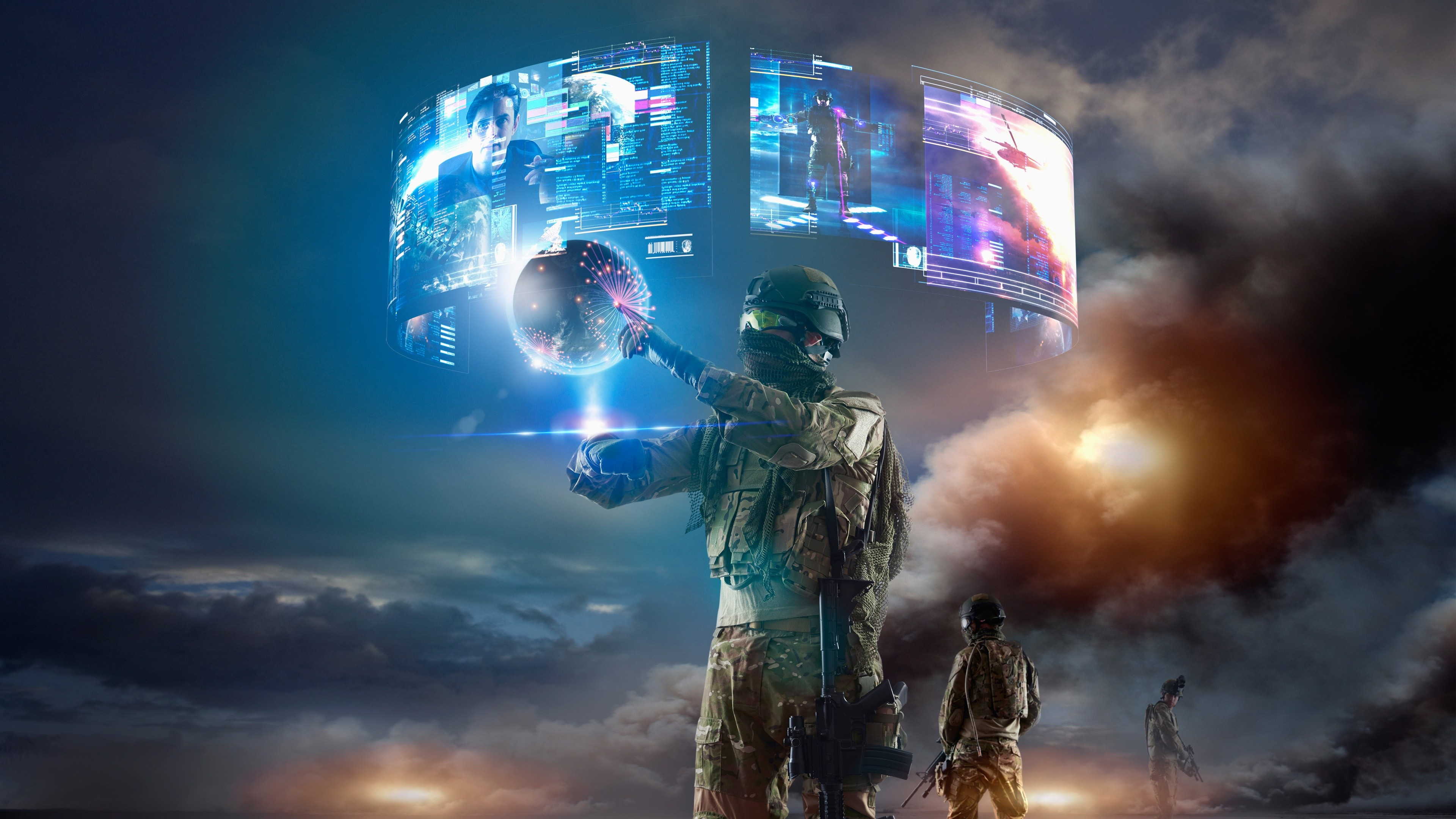Wallpaper Soldier Virtual Reality Vr Military Games 11735