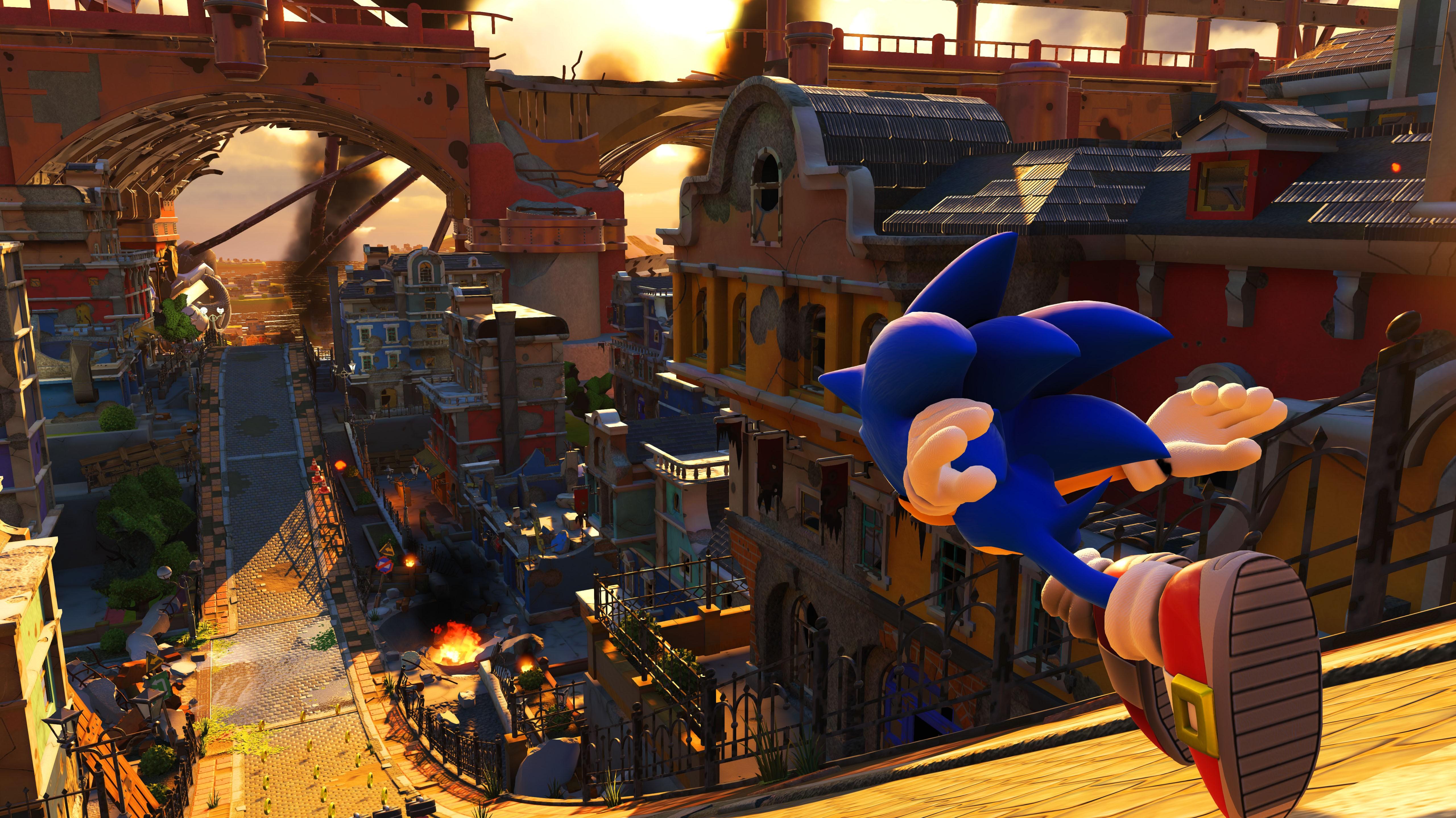 Wallpaper Sonic Forces, 4k, E3 2017, screenshot, Games #14363