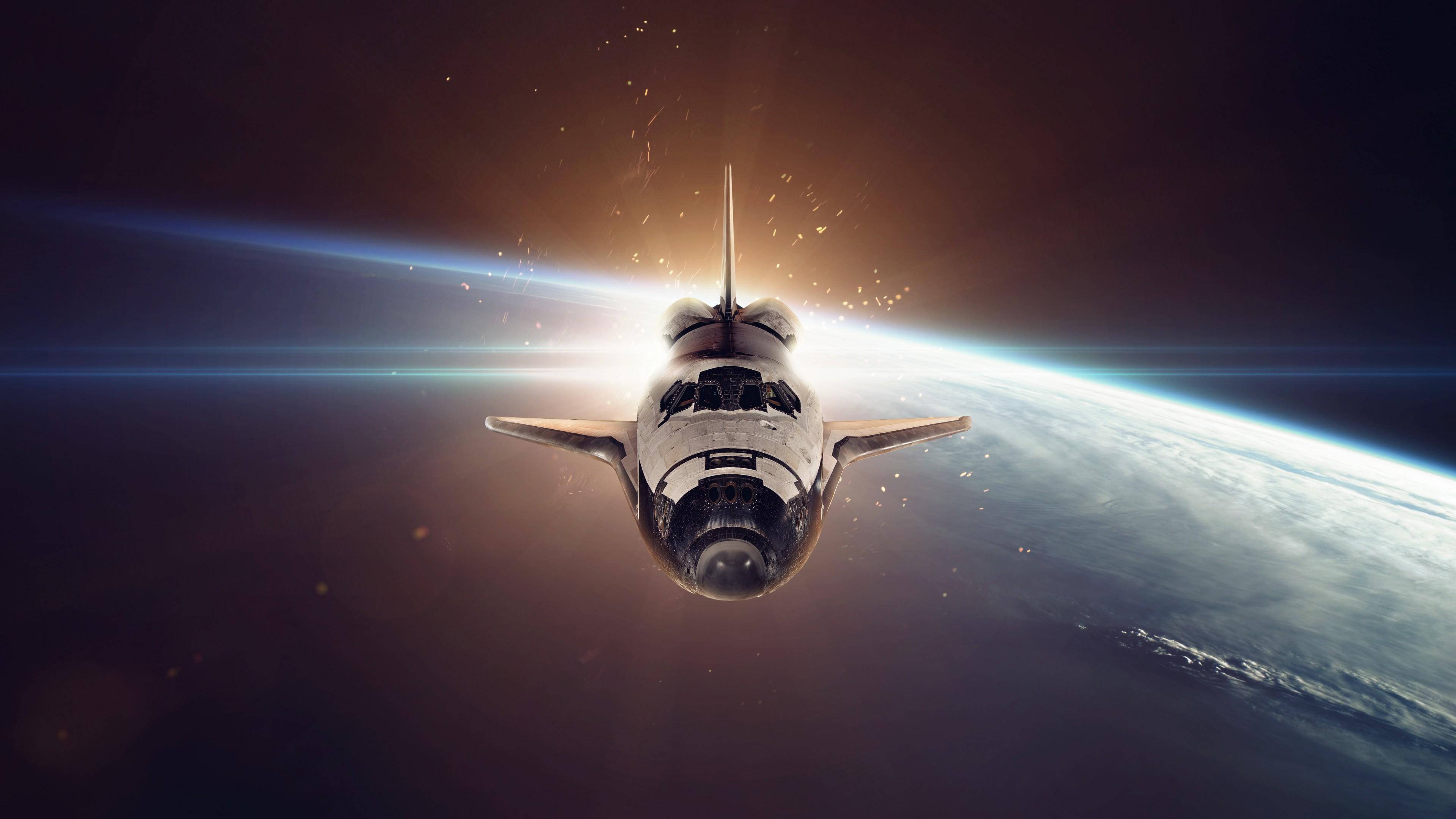Wallpaper spaceship space galaxy 5k space 17526 - Spaceship wallpaper 4k ...