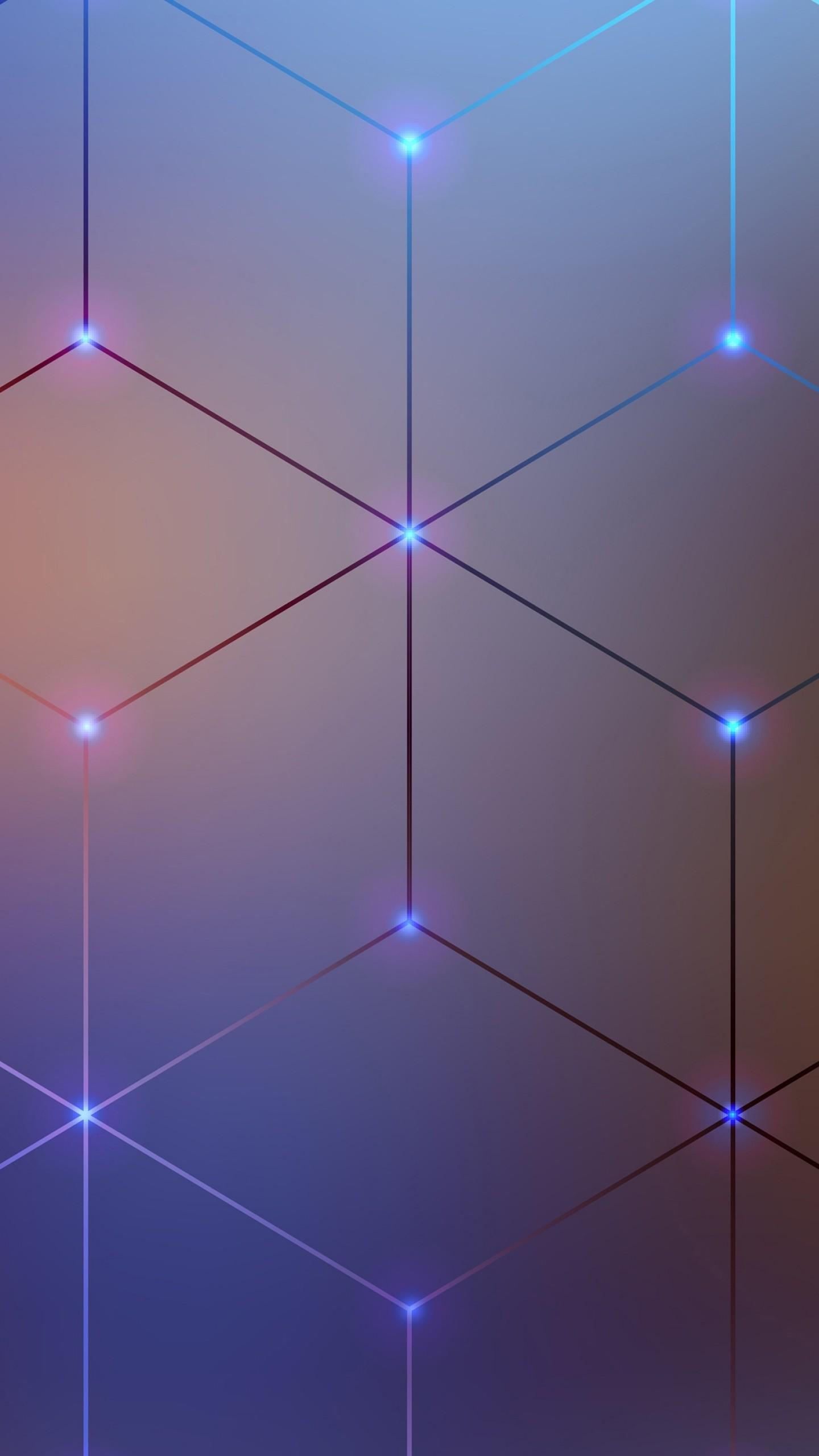 wallpaper spectrum electromagnetic  lines  4k  5k  android