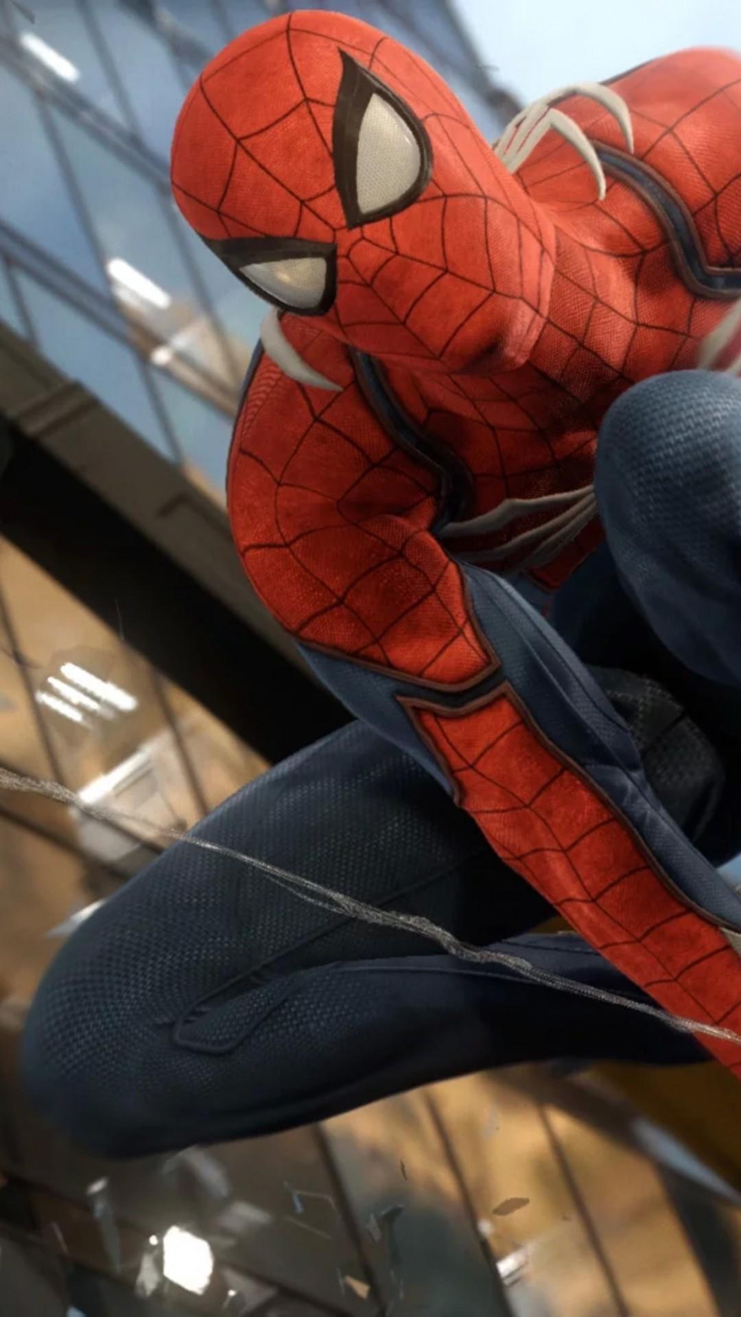 spiderman_Wallpaper Spider-Man, Marvel, superhero, ps4, Games #12379