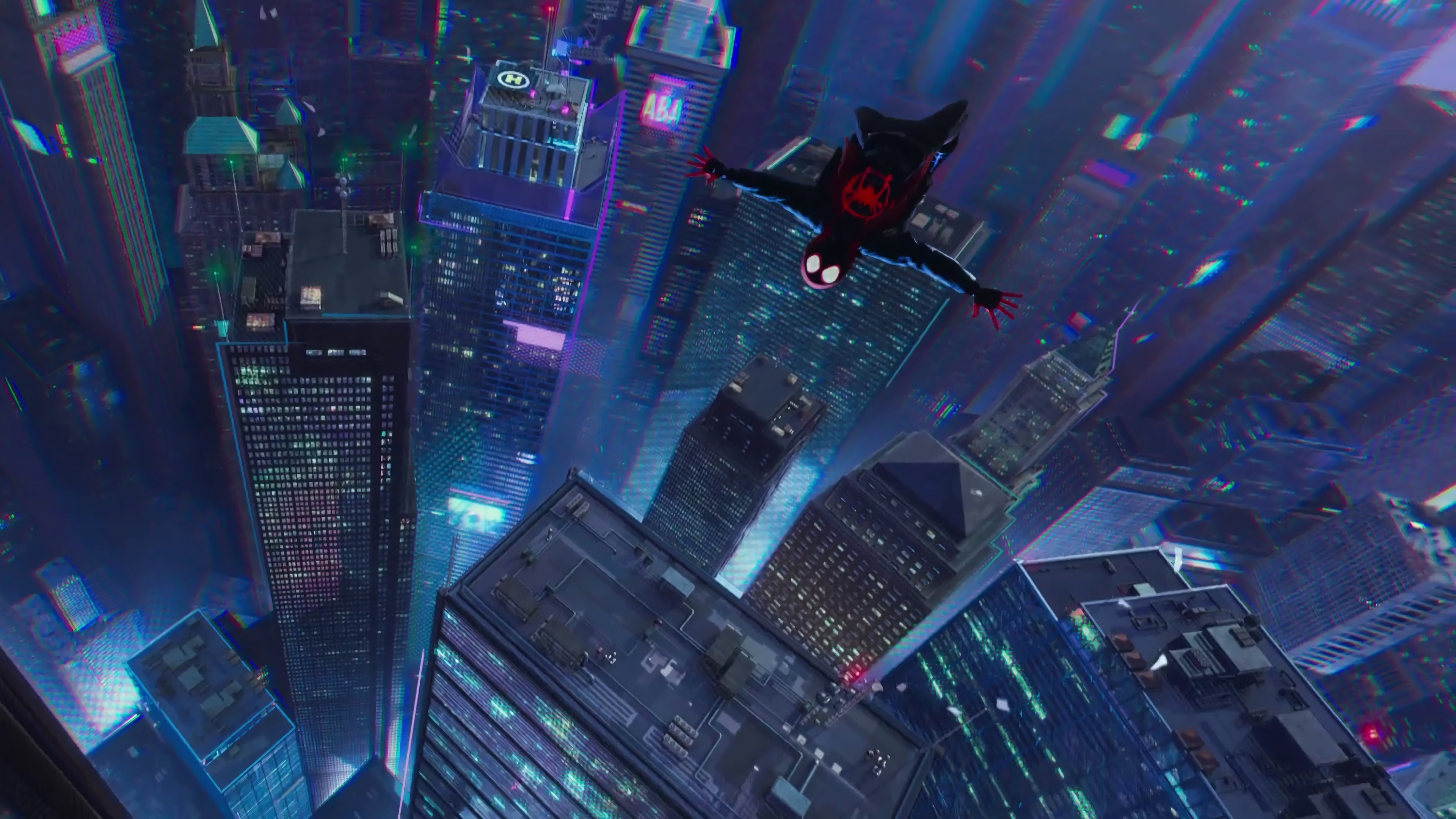 Wallpaper Spider Man Into The Spider Verse 4k Movies 20637