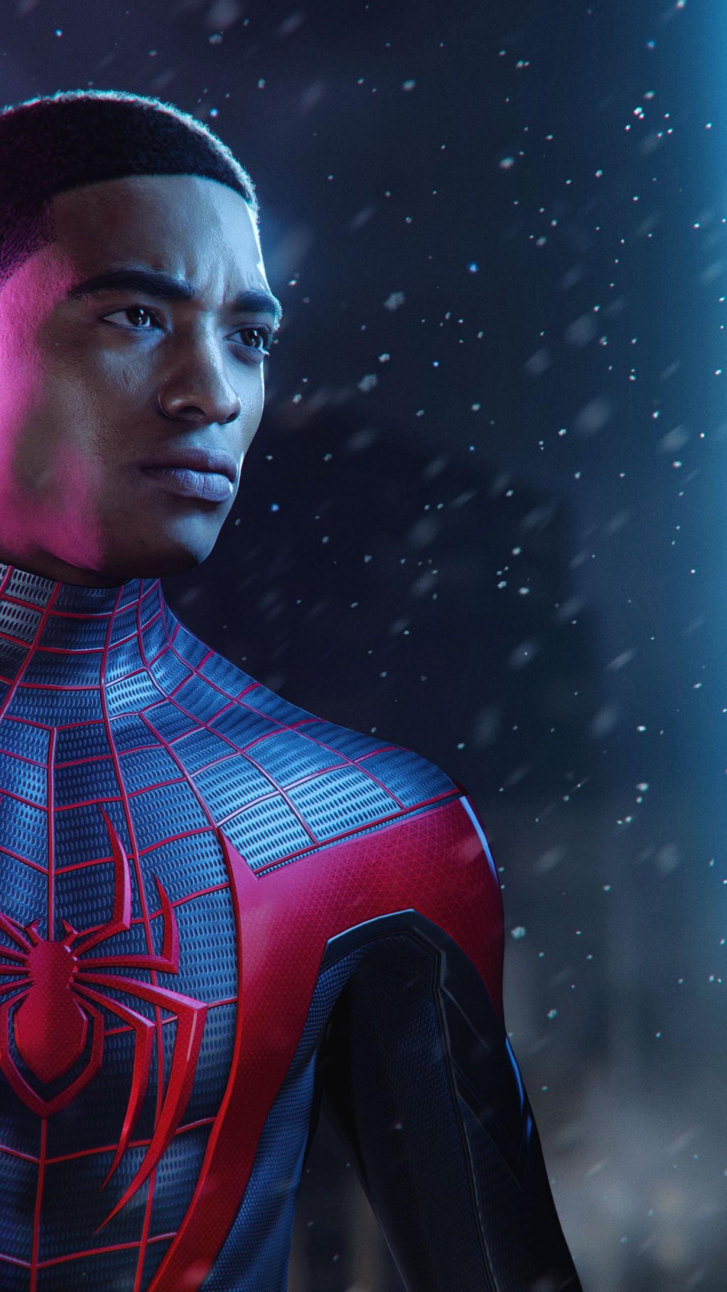 Wallpaper Spider Man Miles Morales Ps5 Playstation 5 Blm Games 22576