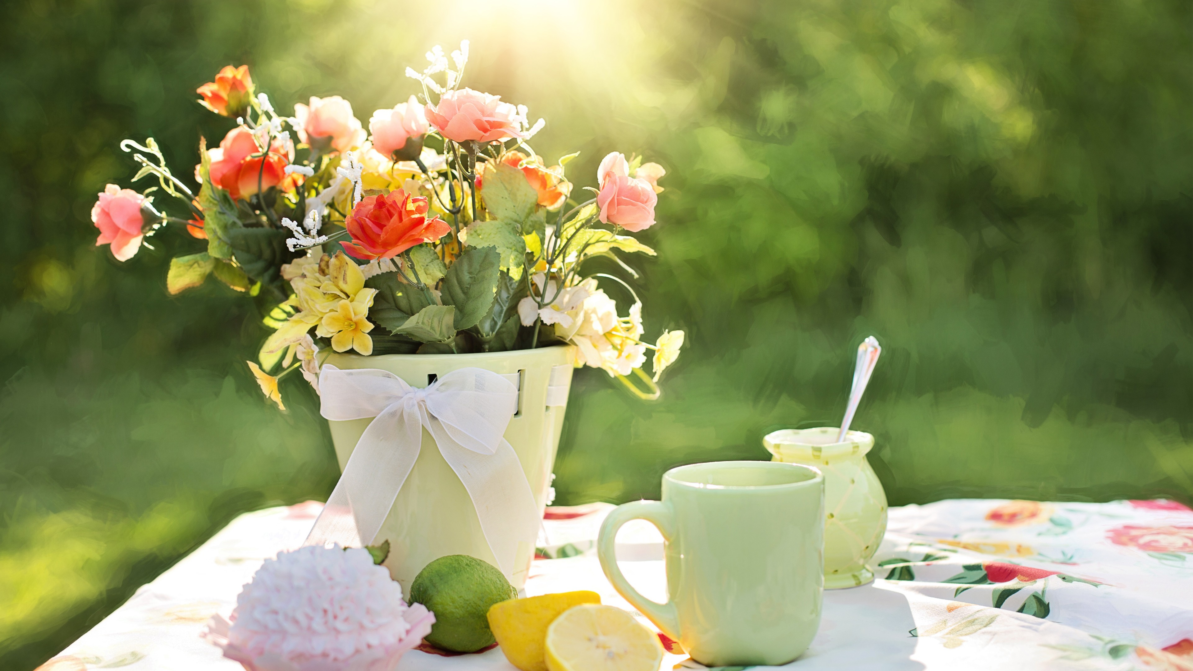 Good Wallpaper Mac Spring - spring-flowers-3840x2160-4k-hd-wallpaper-summer-flowers-summer-sun-10140  Perfect Image Reference_274156.jpg