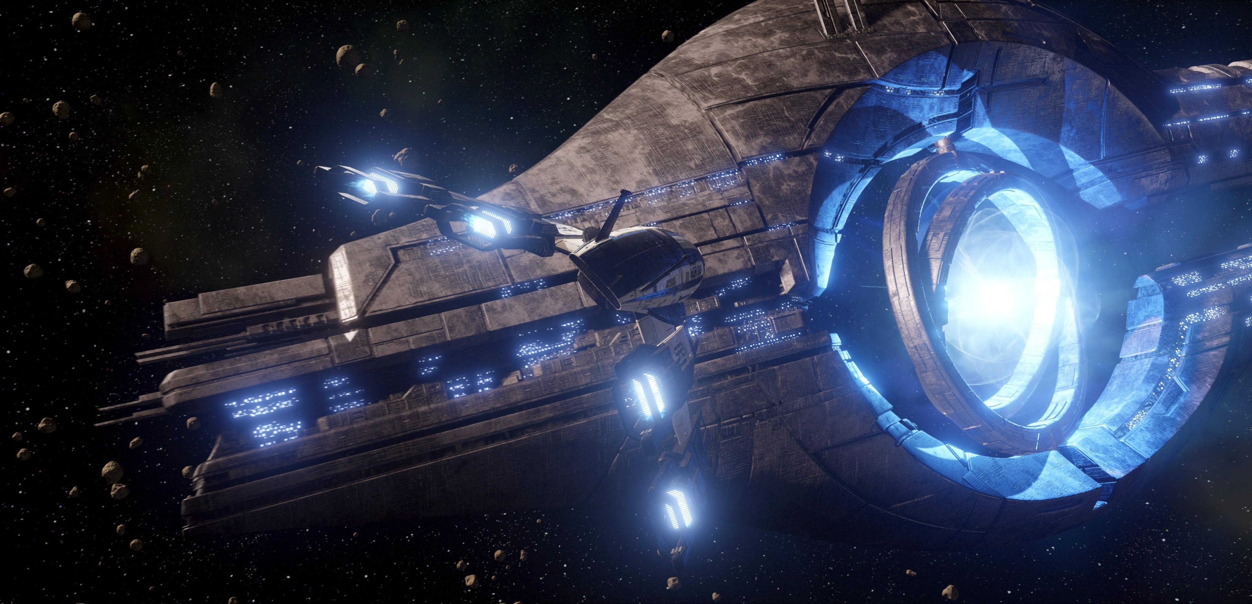 Wallpaper star citizen game space simulator battle sci - Spaceship wallpaper 4k ...