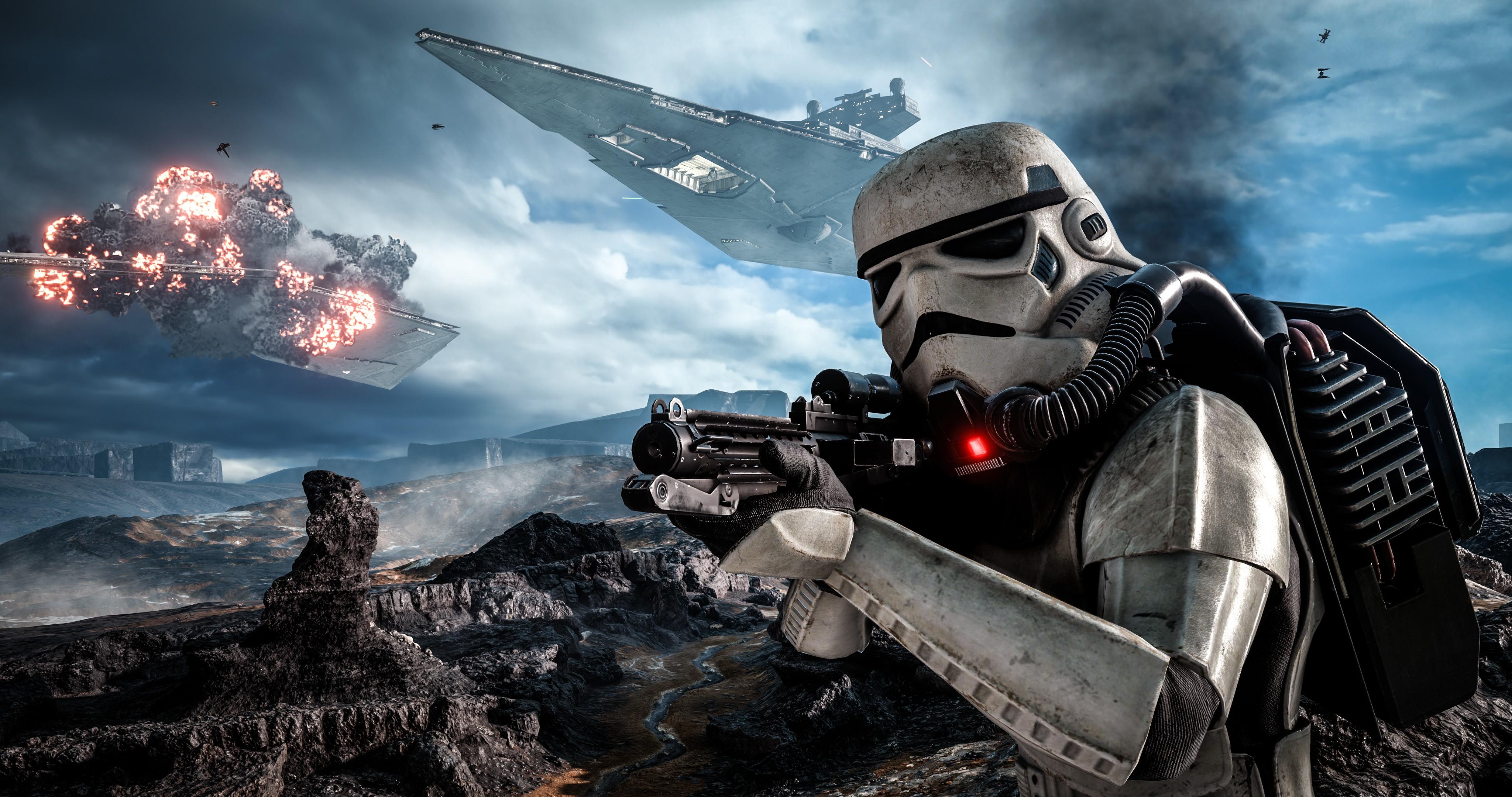 wallpaper star wars battlefront, dice, best games, game, shooter