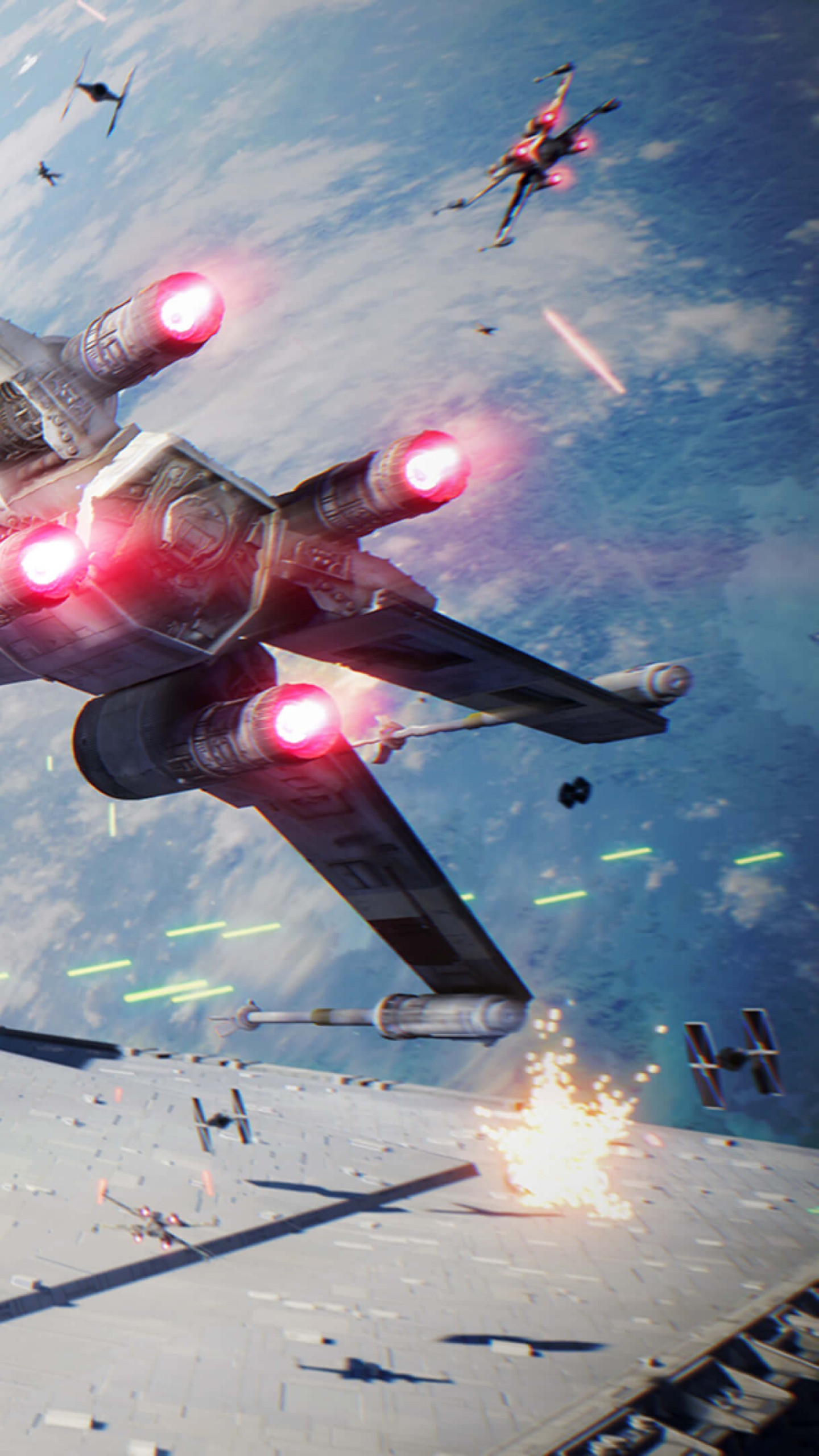 star wars battlefront ii 1440x2560 4k screenshot 13413