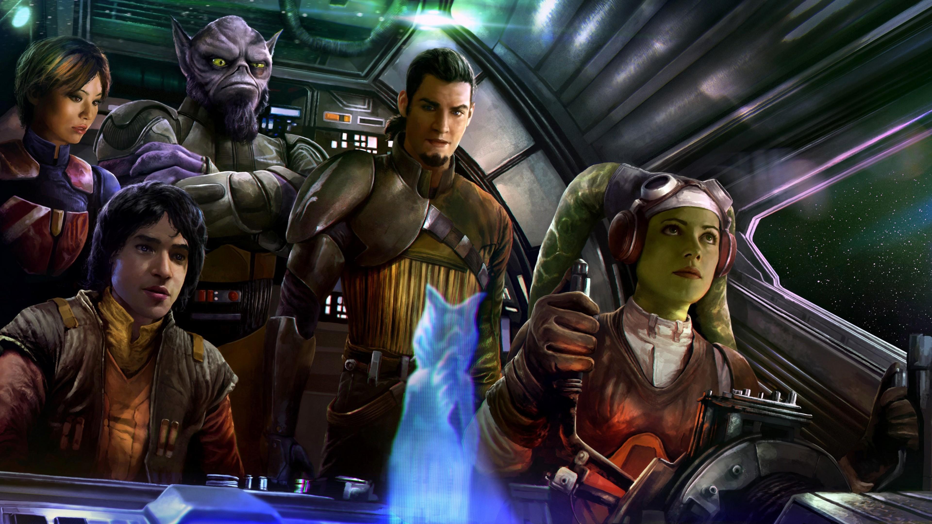 Wallpaper Star Wars Rebels Season 4 Movies 13438