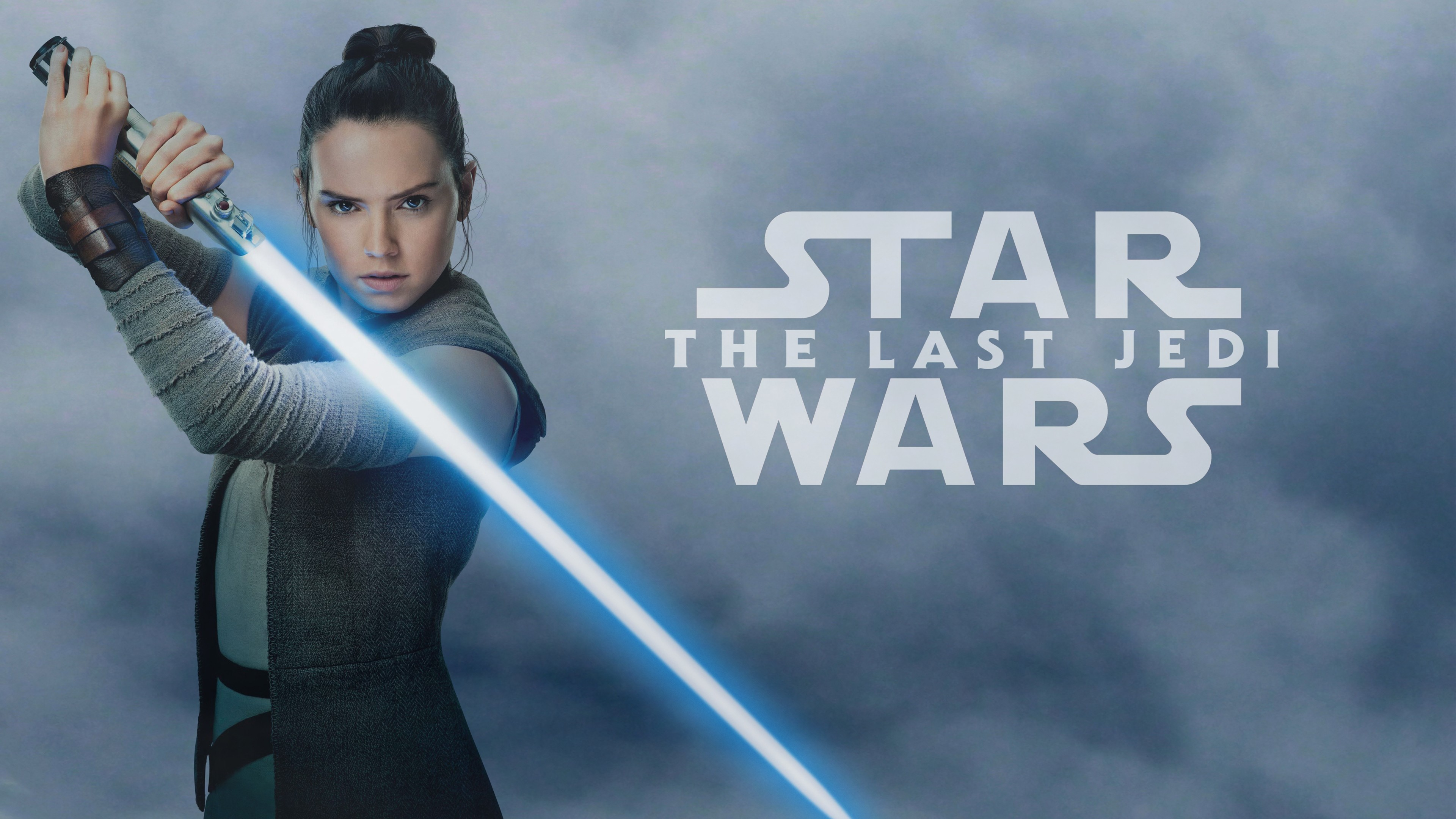 Wallpaper Star Wars The Last Jedi Daisy Ridley 4k Movies 16572