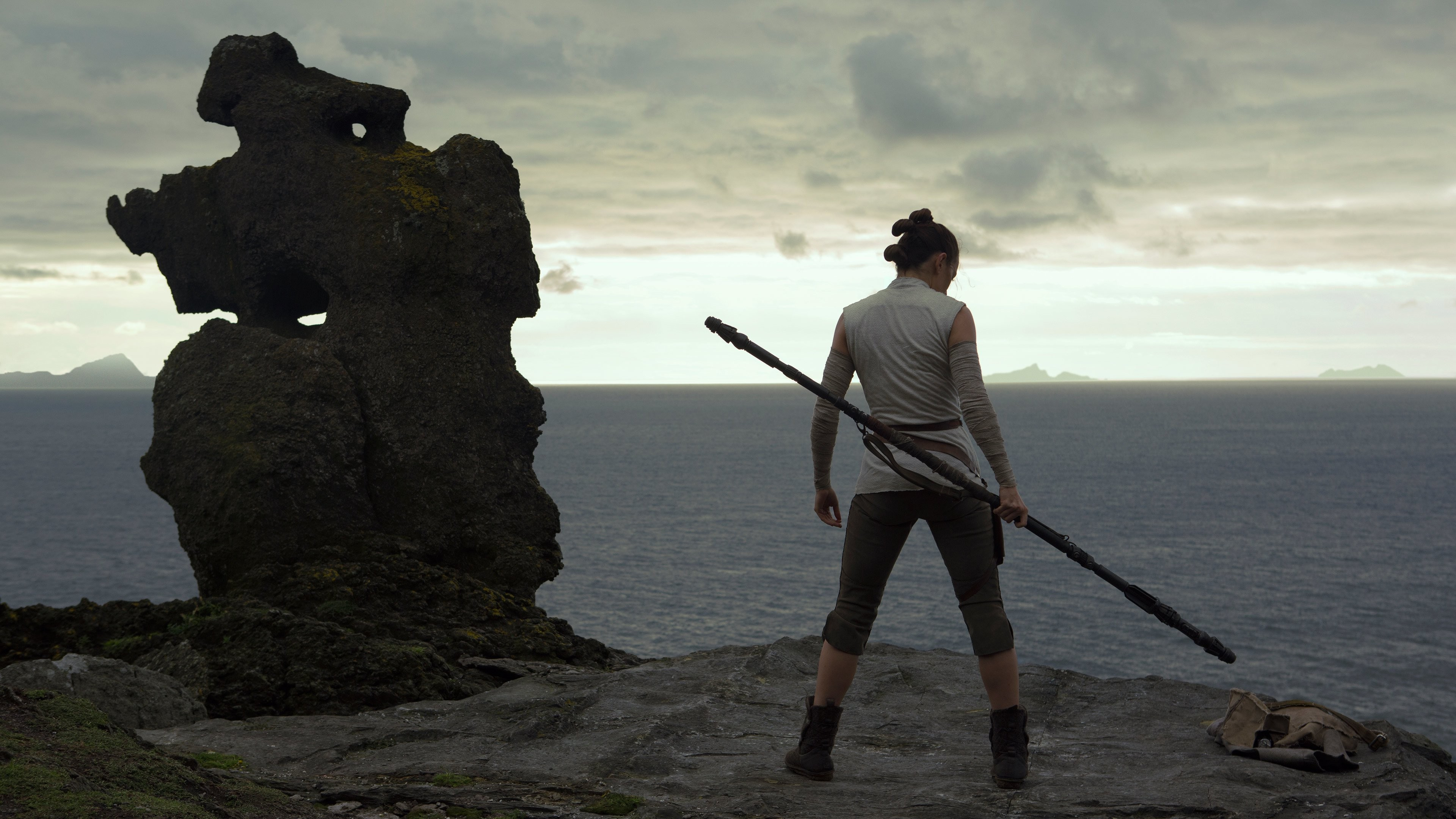 Wallpaper Star Wars The Last Jedi Daisy Ridley 4k Movies 16628