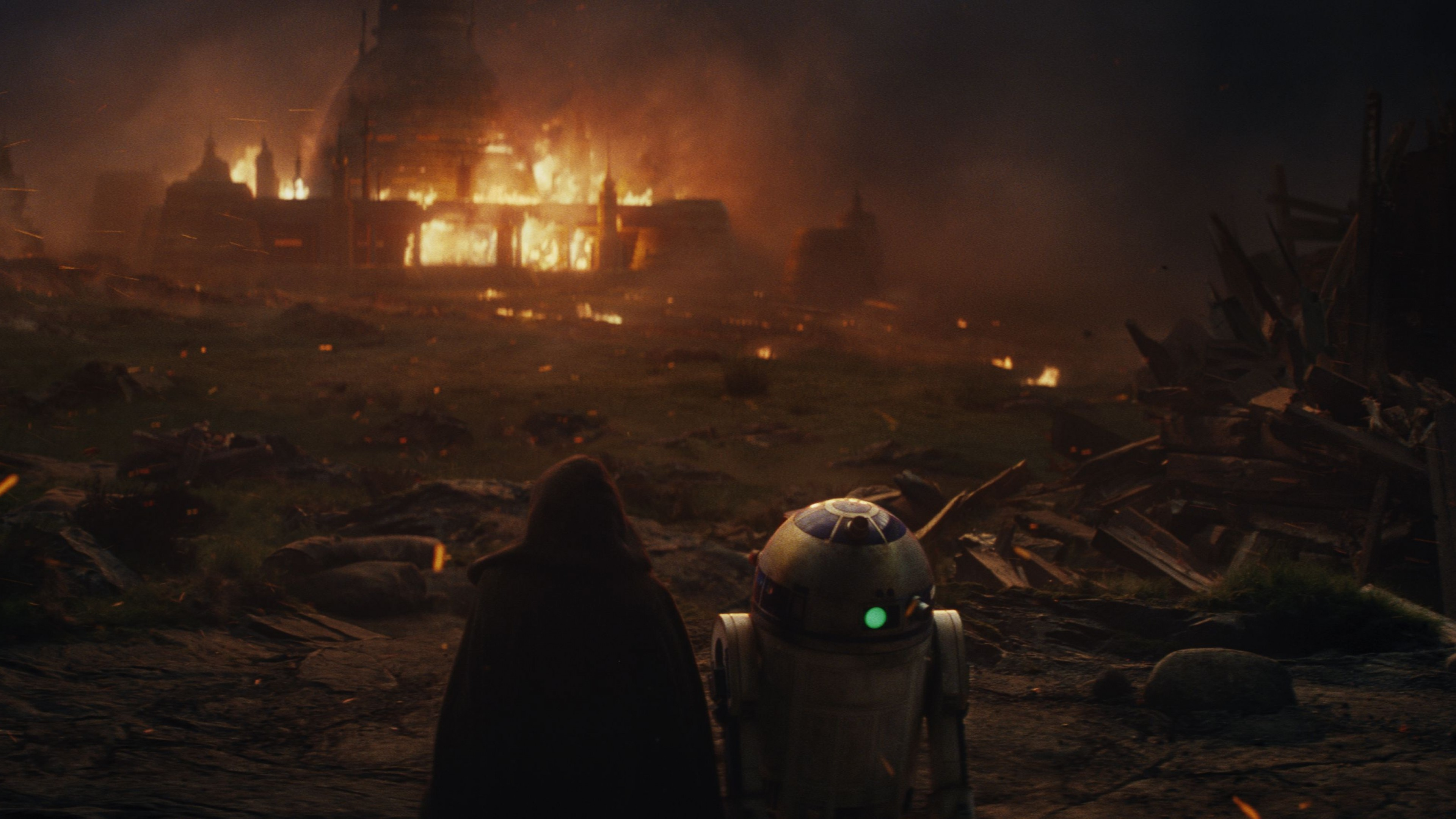 Wallpaper Star Wars The Last Jedi Daisy Ridley Mark Hamill