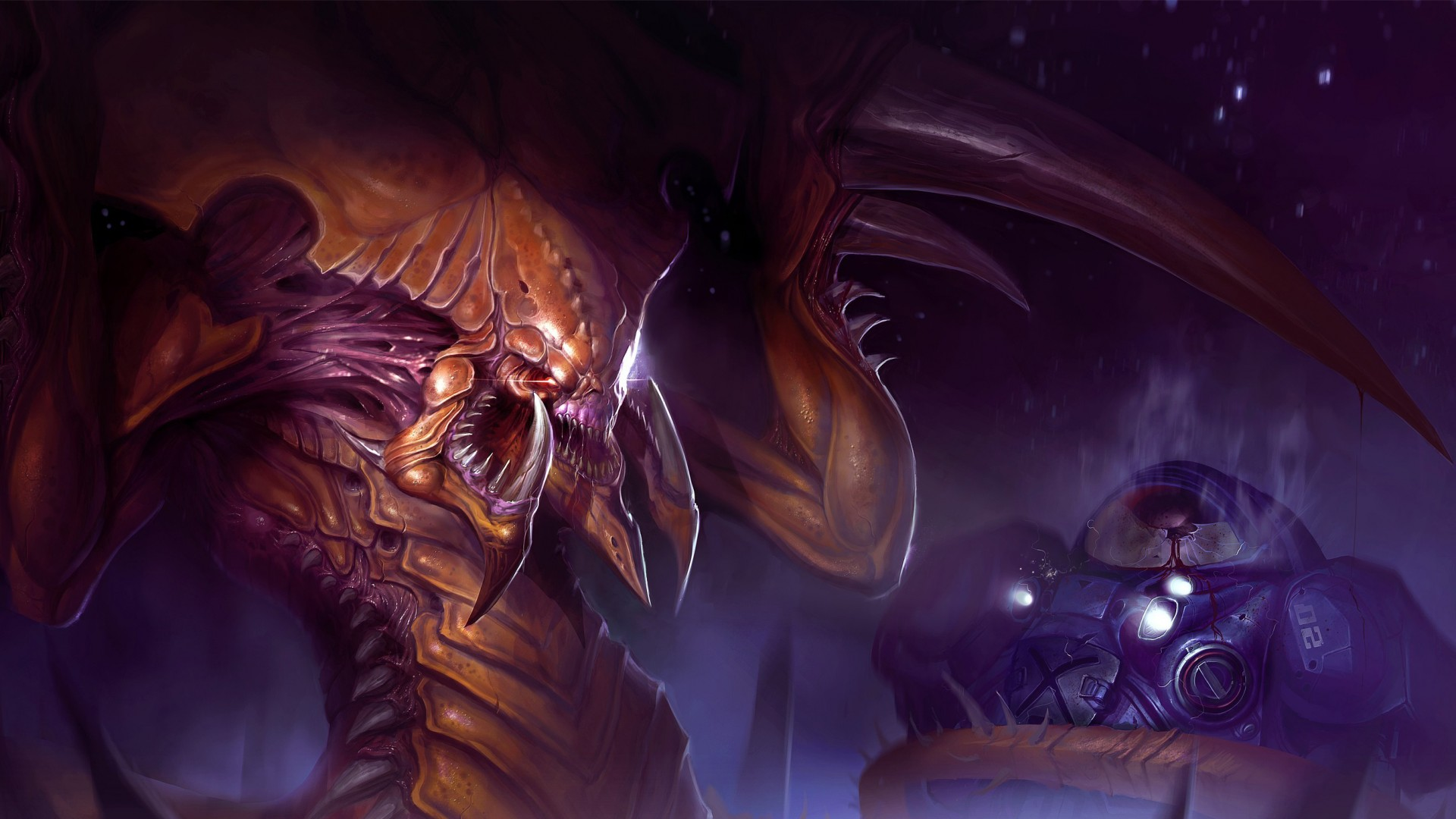 Wallpaper Starcraft 2 Legacy Of The Void Best Game Sci Fi Pc