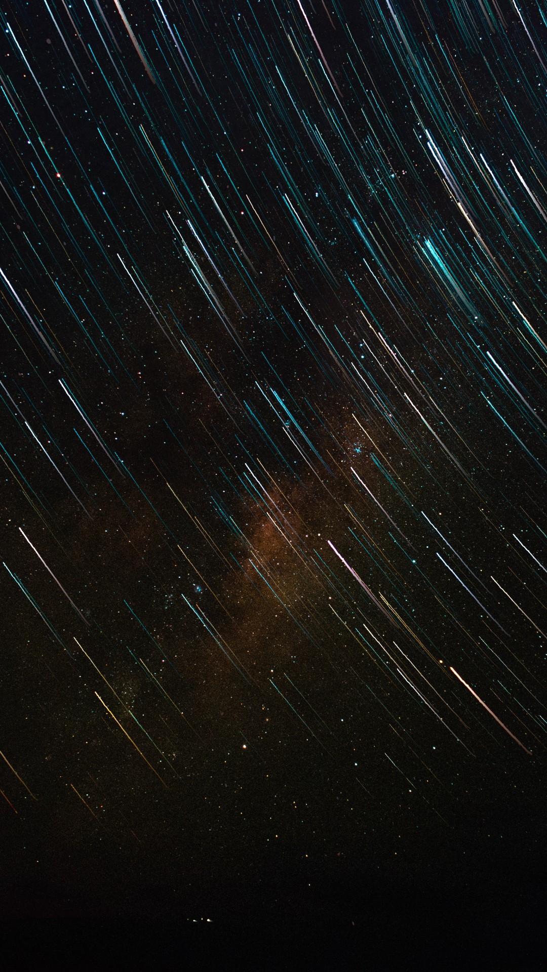 stars 1080x1920 star trail galaxy sky 4k 6k 18295