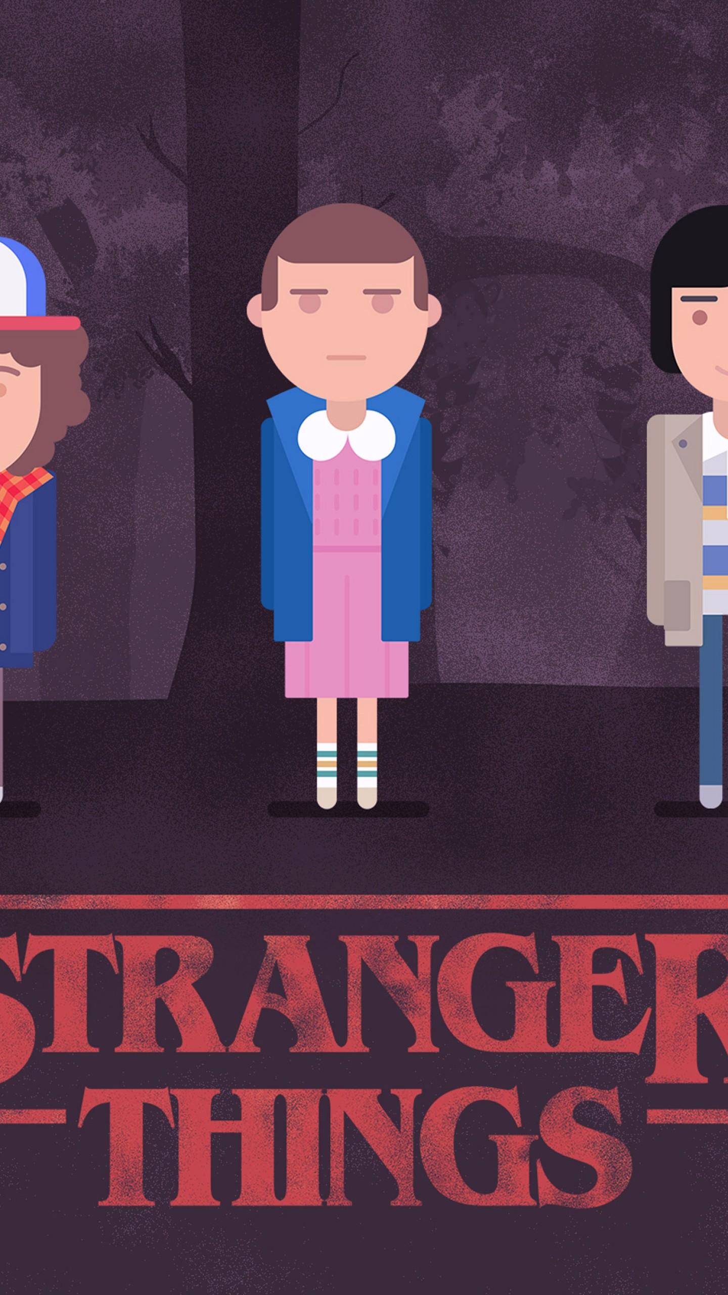 Wallpaper Stranger Thi...