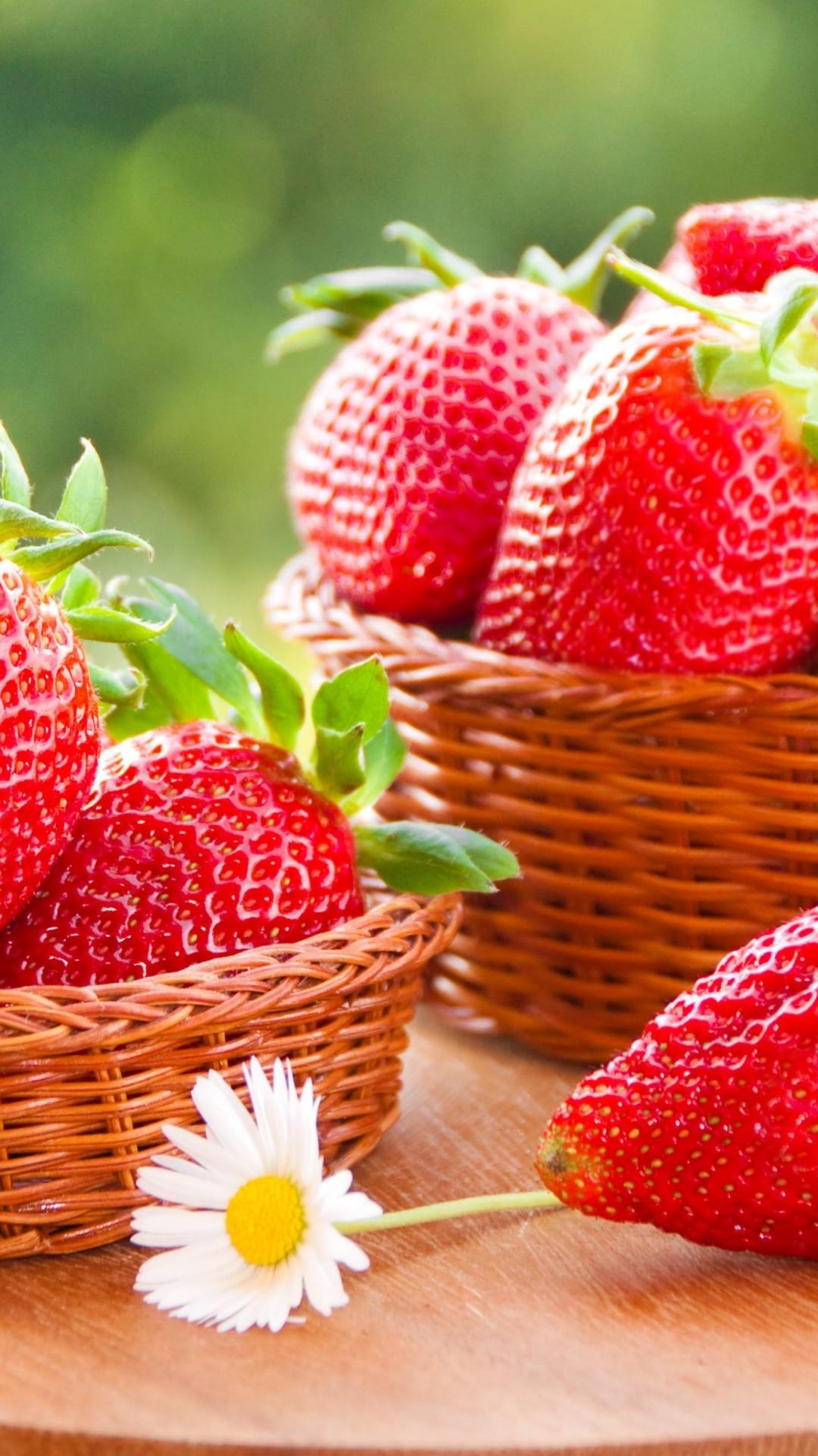 Wallpaper Strawberry 4k Food 15337