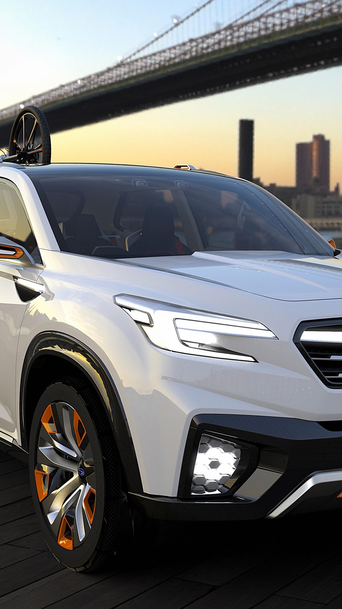 Wallpaper Subaru Viziv Future Concept Cars Amp Bikes 7596