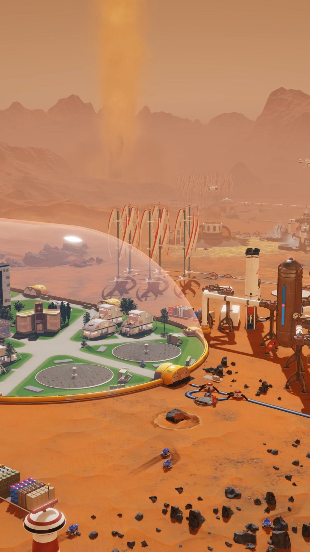 Wallpaper Surviving Mars Screenshot 4k Games 17773