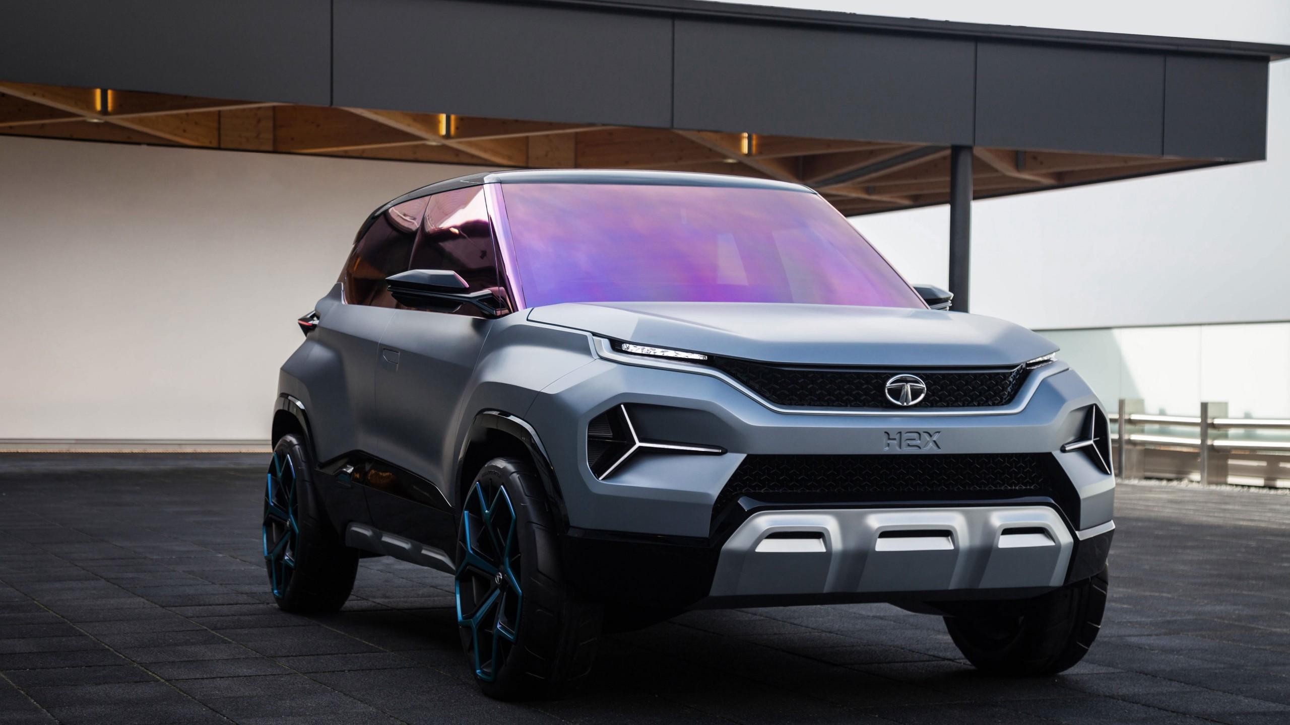 Wallpaper Tata H2x  Geneva Motor Show 2019  Suv  4k  Cars
