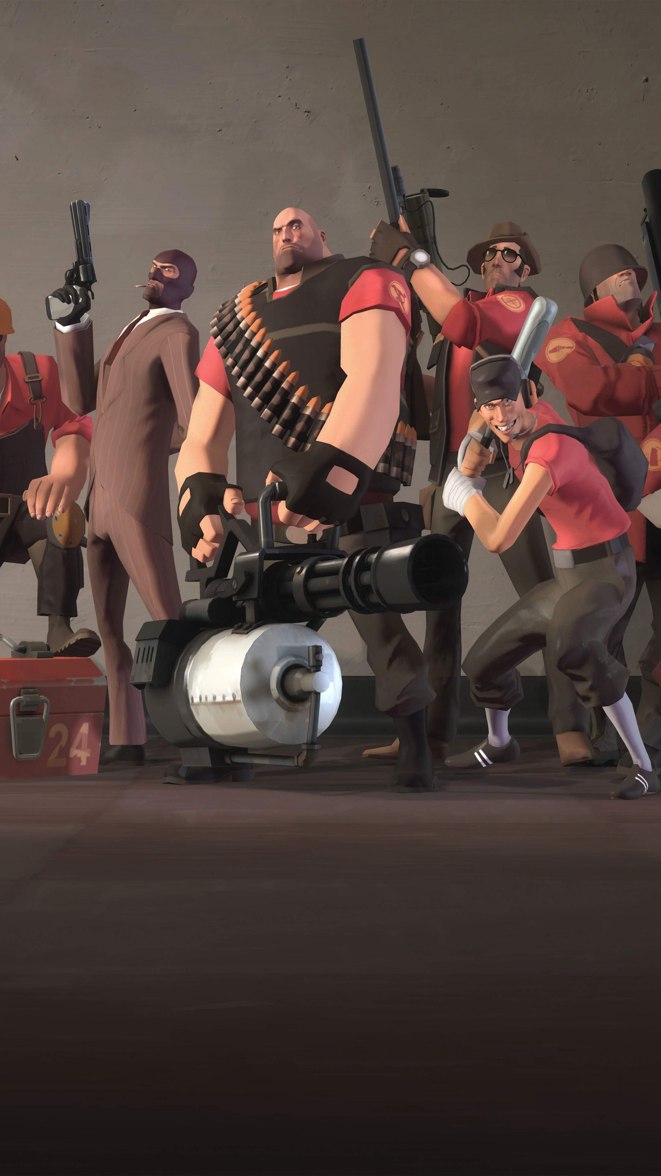 Wallpaper Team Fortress 2, TF2, FPS, All Characters