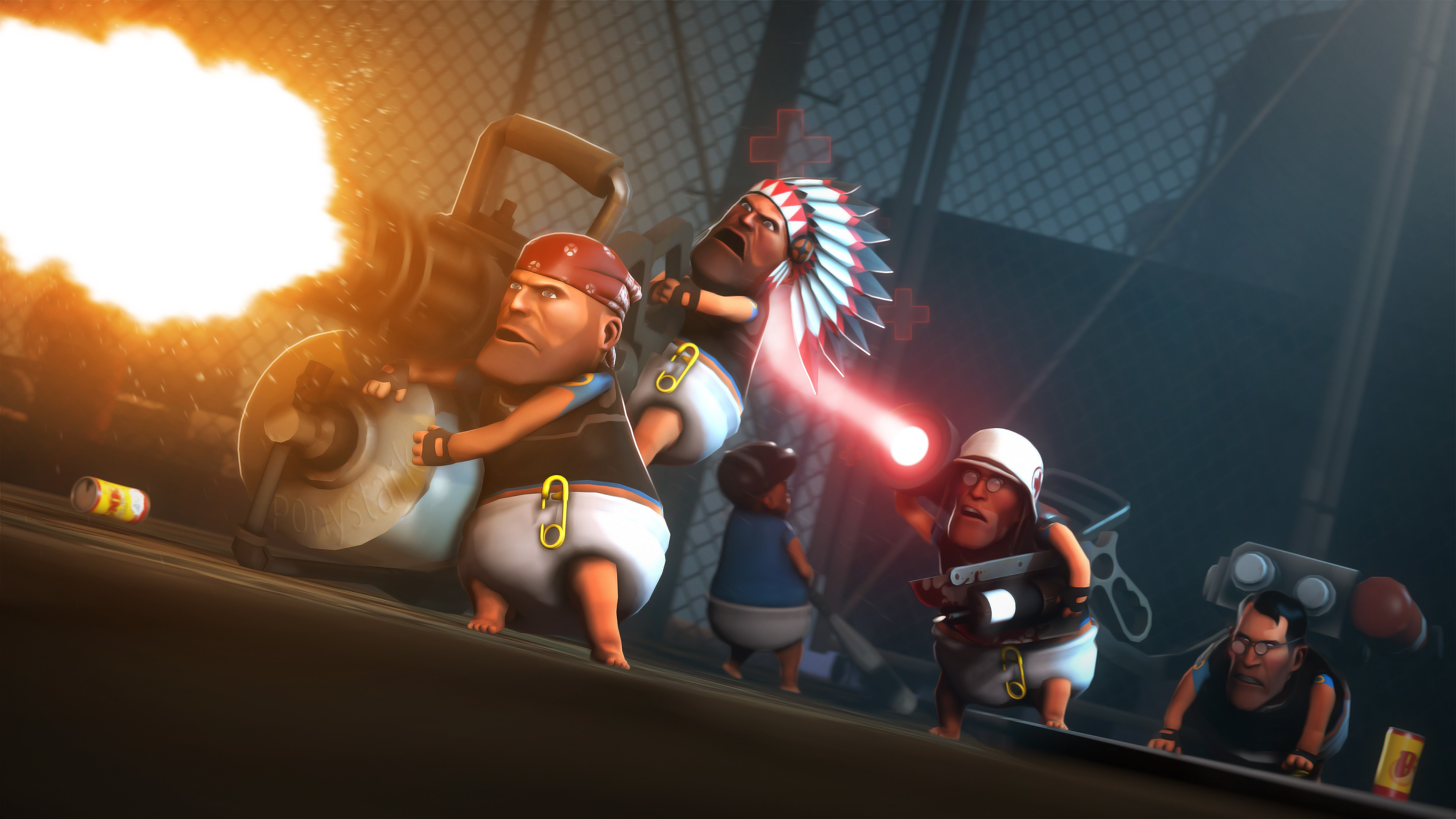 Wallpaper Team Fortress 2  Tf2  Fps  Mod  Baby