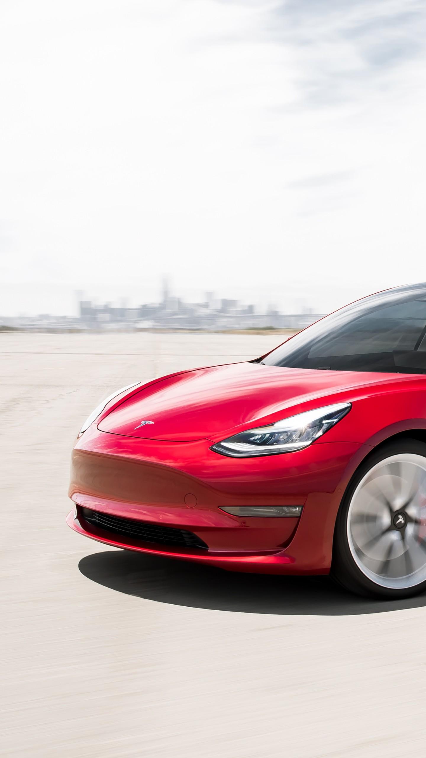 Wallpaper Tesla Model 3 Performance 2019 Cars Electric