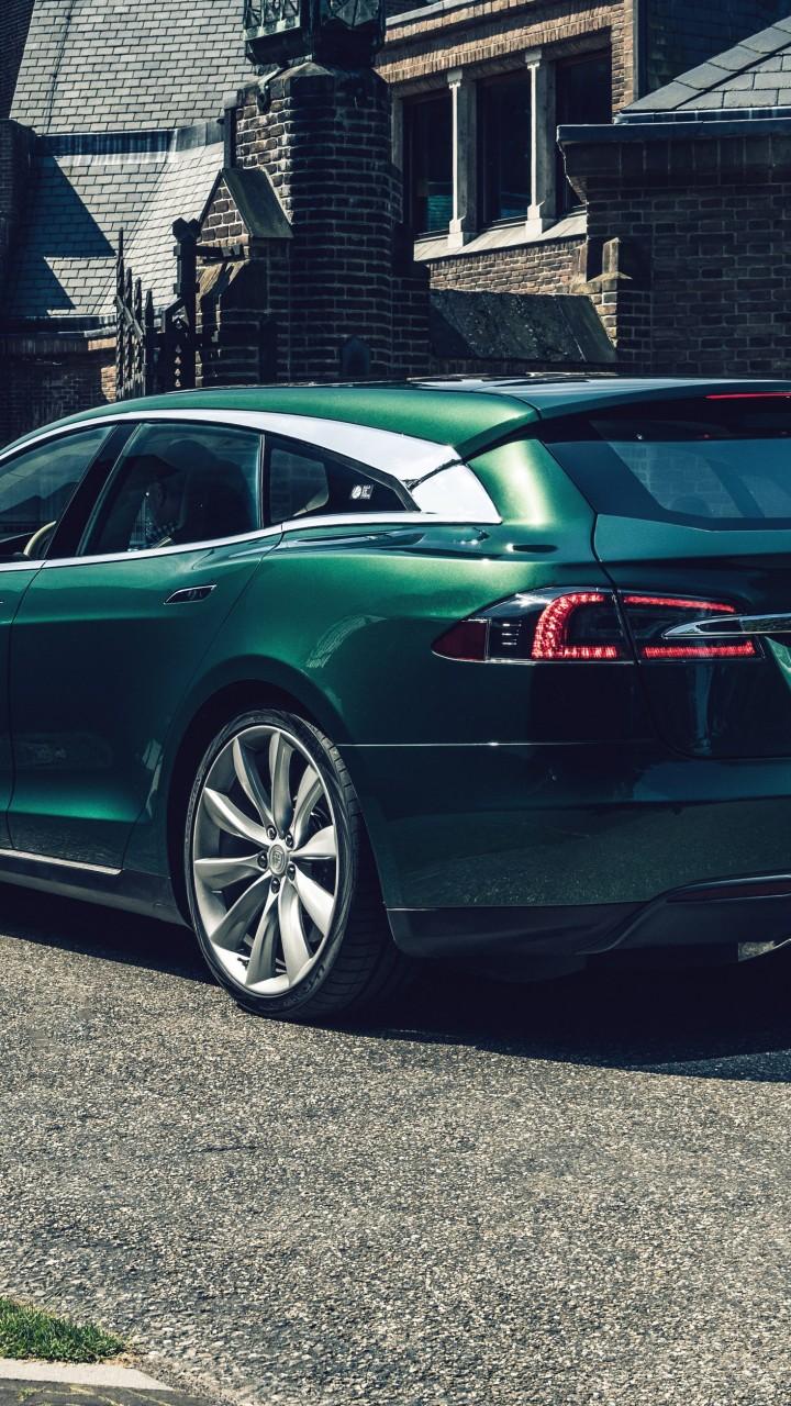 Jaguar F Type S >> Wallpaper Tesla Model S Shooting Brake, 2018 Cars ...