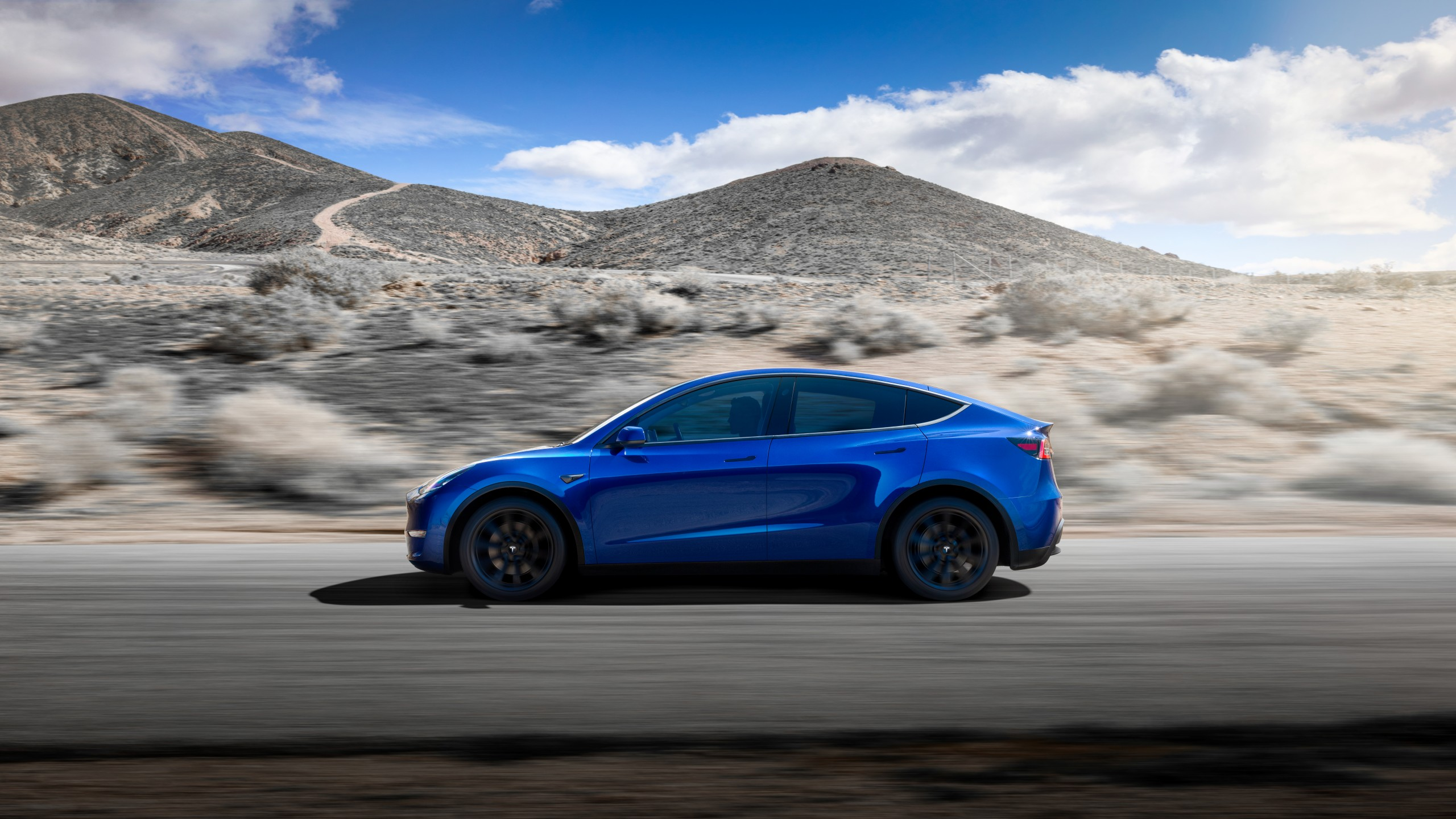 Wallpaper Tesla Model Y 2020 Cars Electric Cars Suv 8k