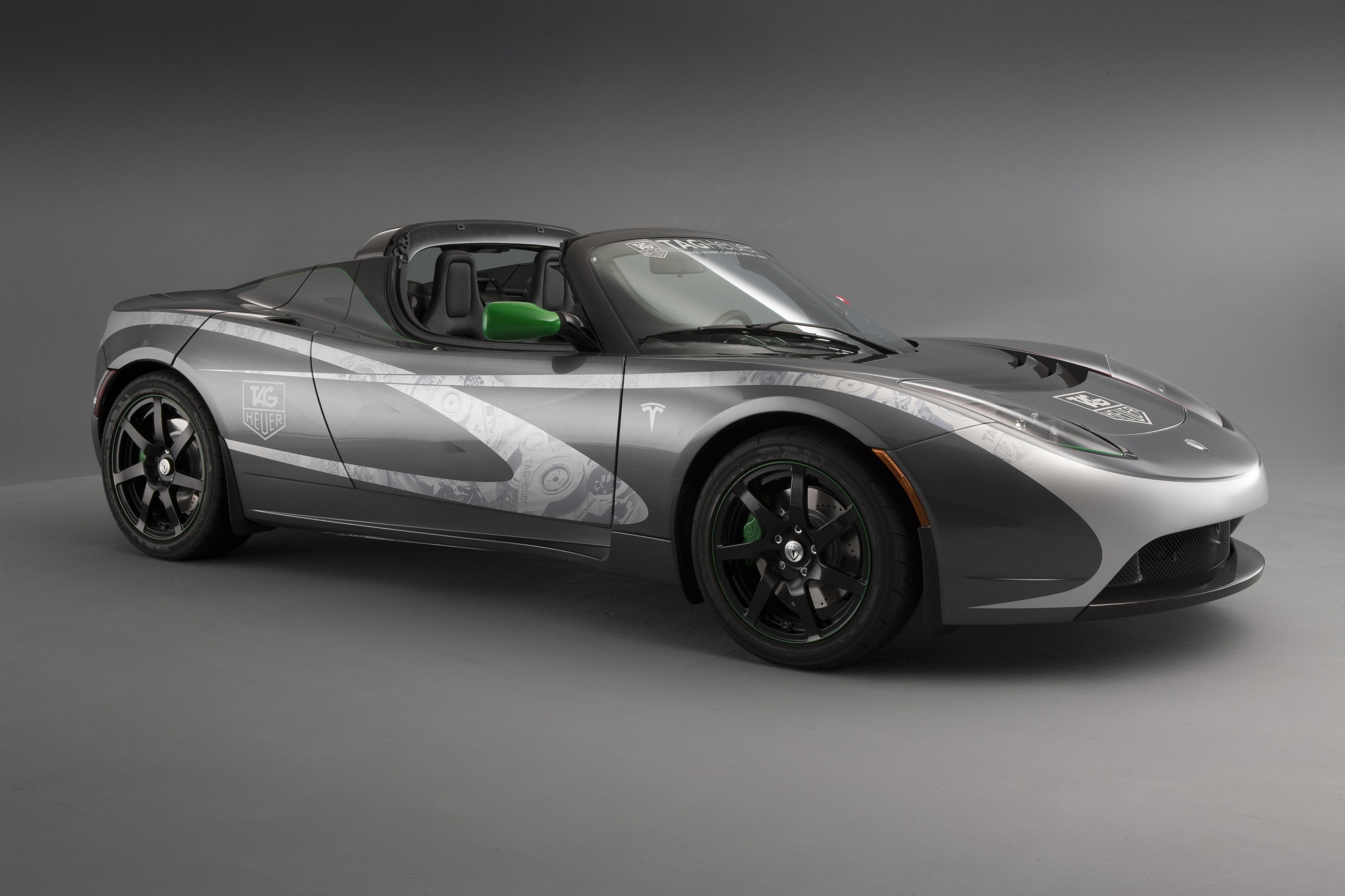 Wallpaper Tesla Roadster Electric Cars Best Electric